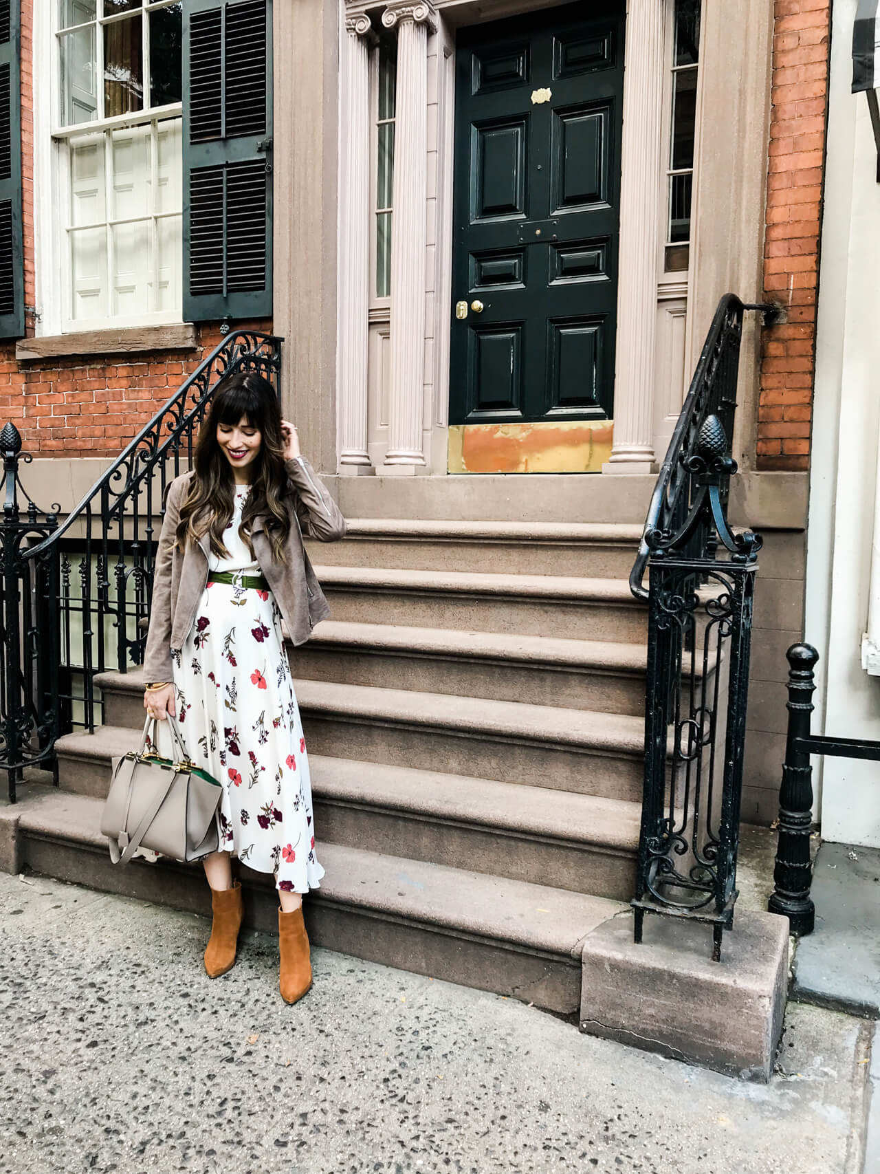 I love this fall outfit for a day in NYC! | M Loves M @marmar