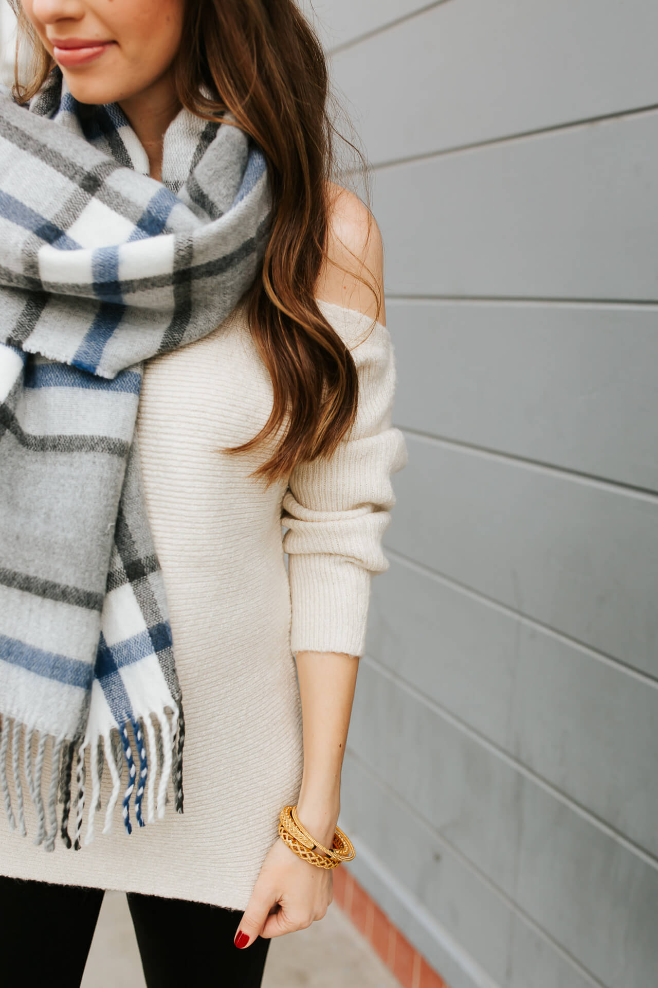 Love this plaid fall scarf from Nordstrom! - M Loves M @marmar