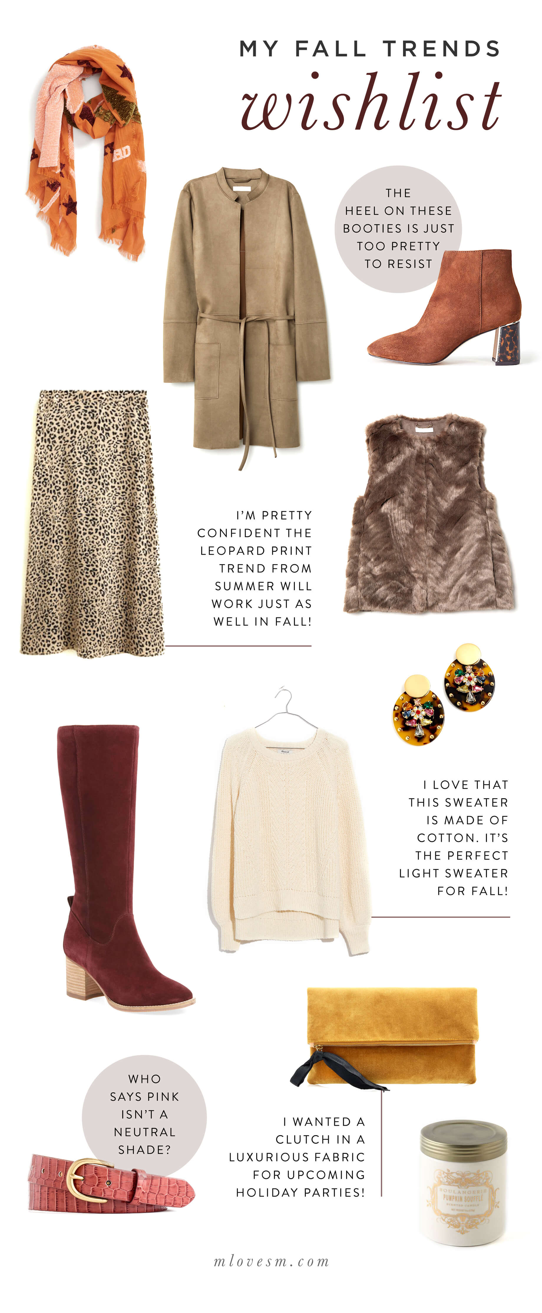 My fall trends wishlist. | M Loves M @marmar