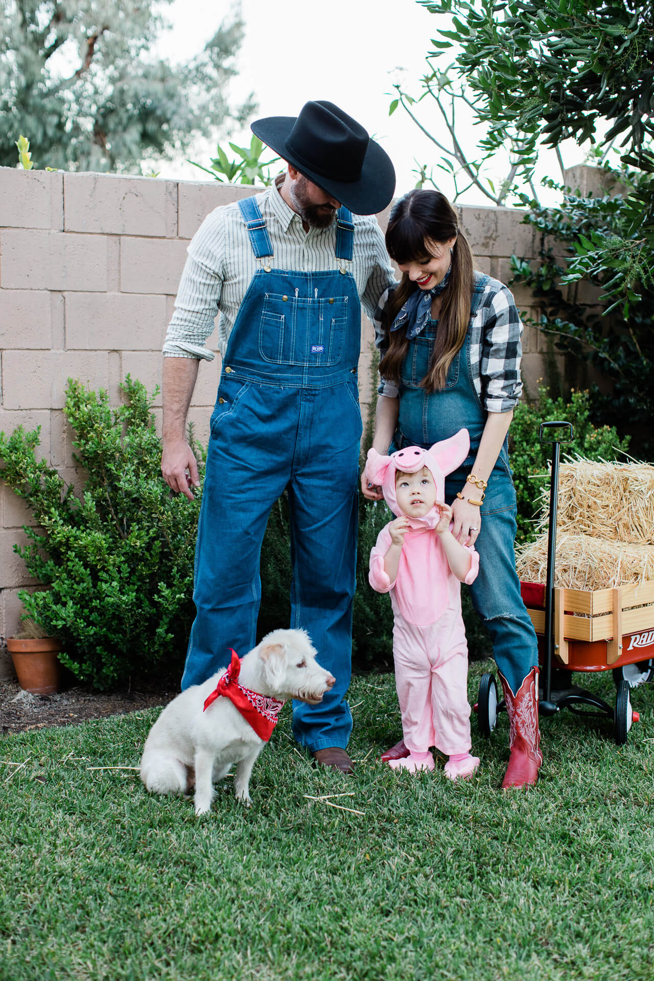 Our group farm costume for Halloween was so fun! - M Loves M @marmar