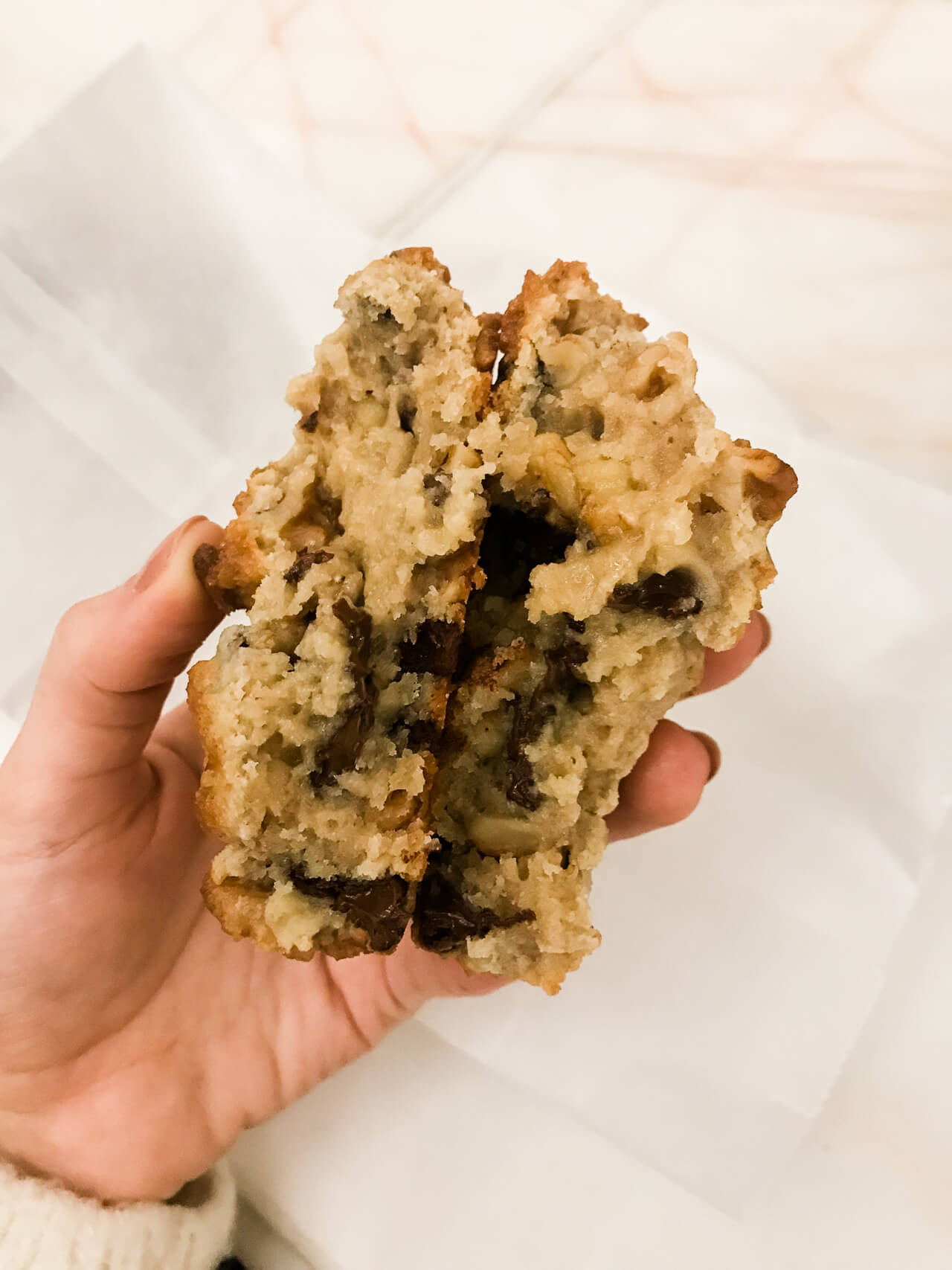 The chocolate chip cookies from Levain Bakery in NYC are my favorite! Wish I had the recipe! | M Loves M @marmar