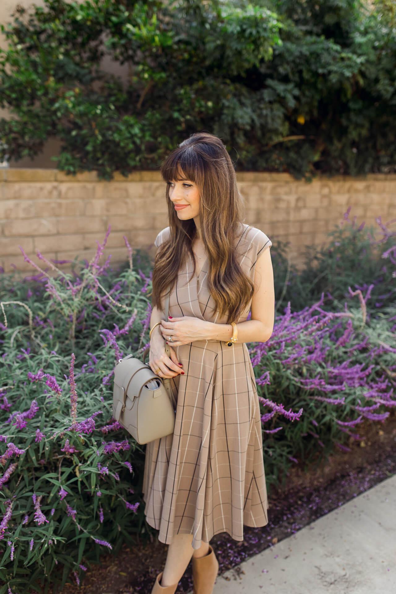 I love this plaid dress for fall. - M Loves M @marmar