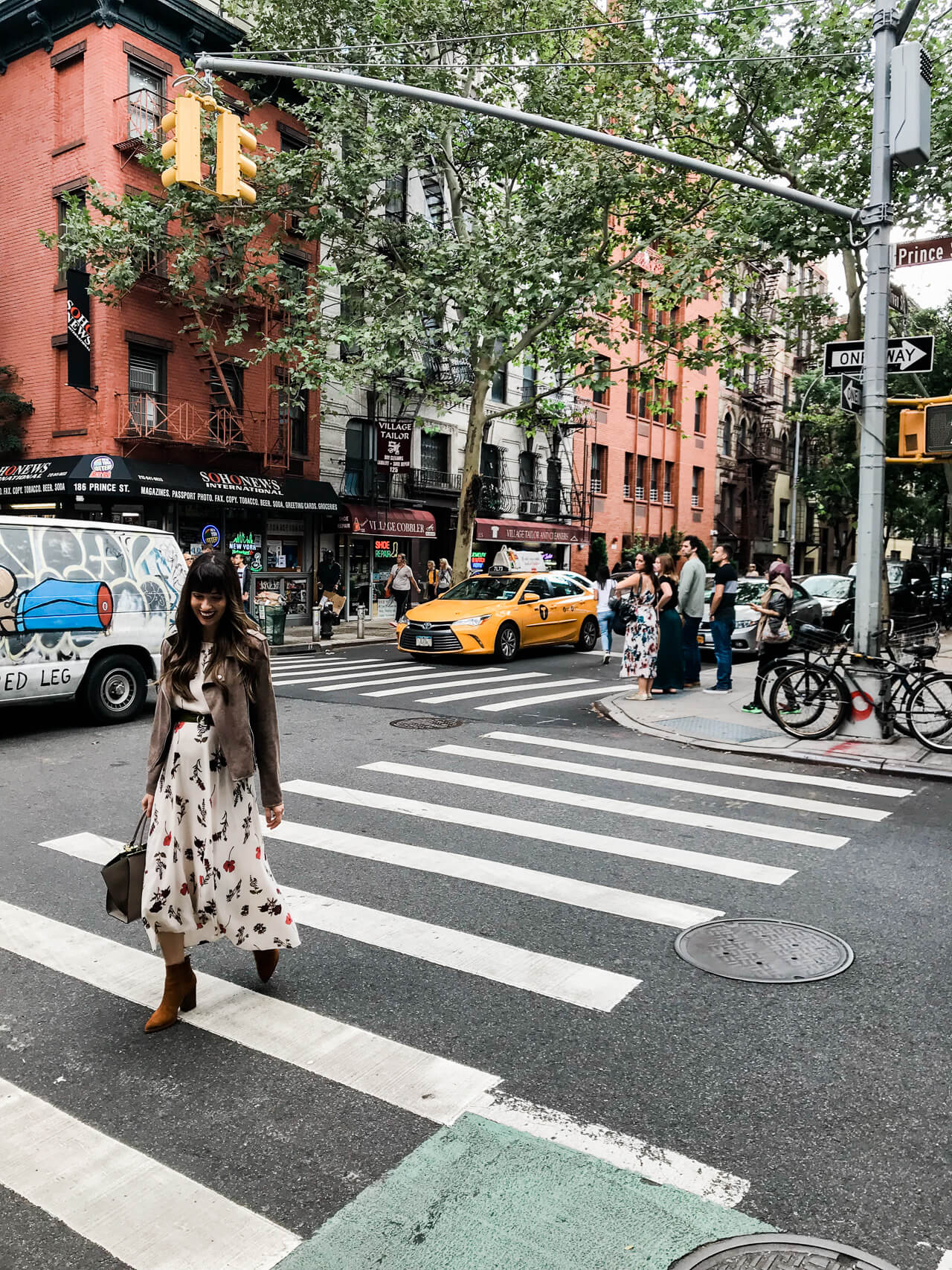 Every street in New York is so cute! | M Loves M @marmar
