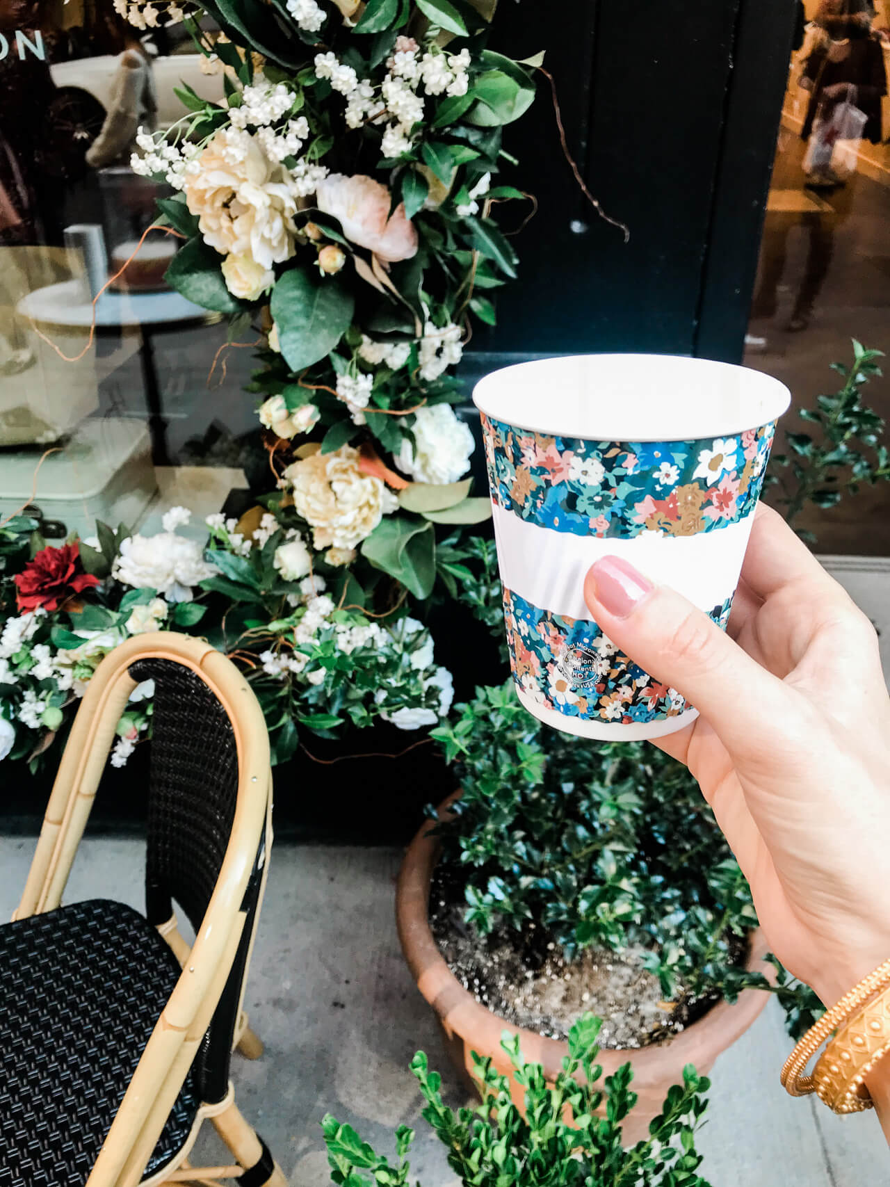 Sezane in NYC has the cutest little cafe!   M Loves M @marmar