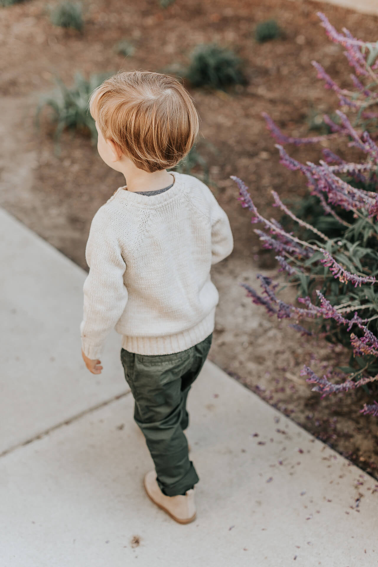 This toddler boy cream sweater is adorable! - M Loves M @marmar