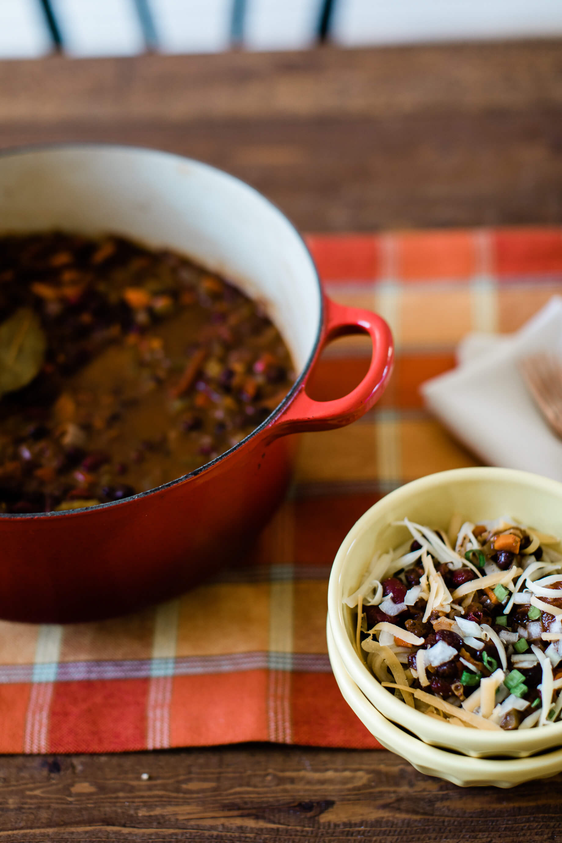 I love my vegetarian chili recipe! - M Loves M @marmar