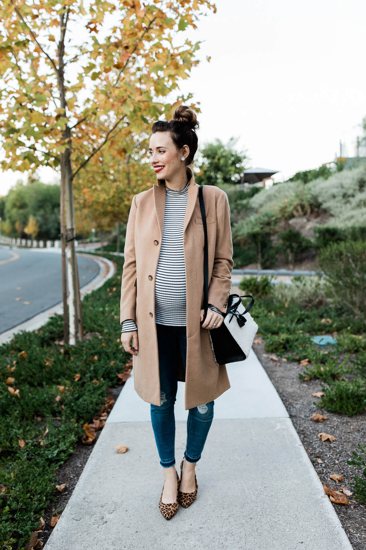 Love this Ralph Lauren camel coat, it's one of my favorite winter outfits! - M Loves M @marmar