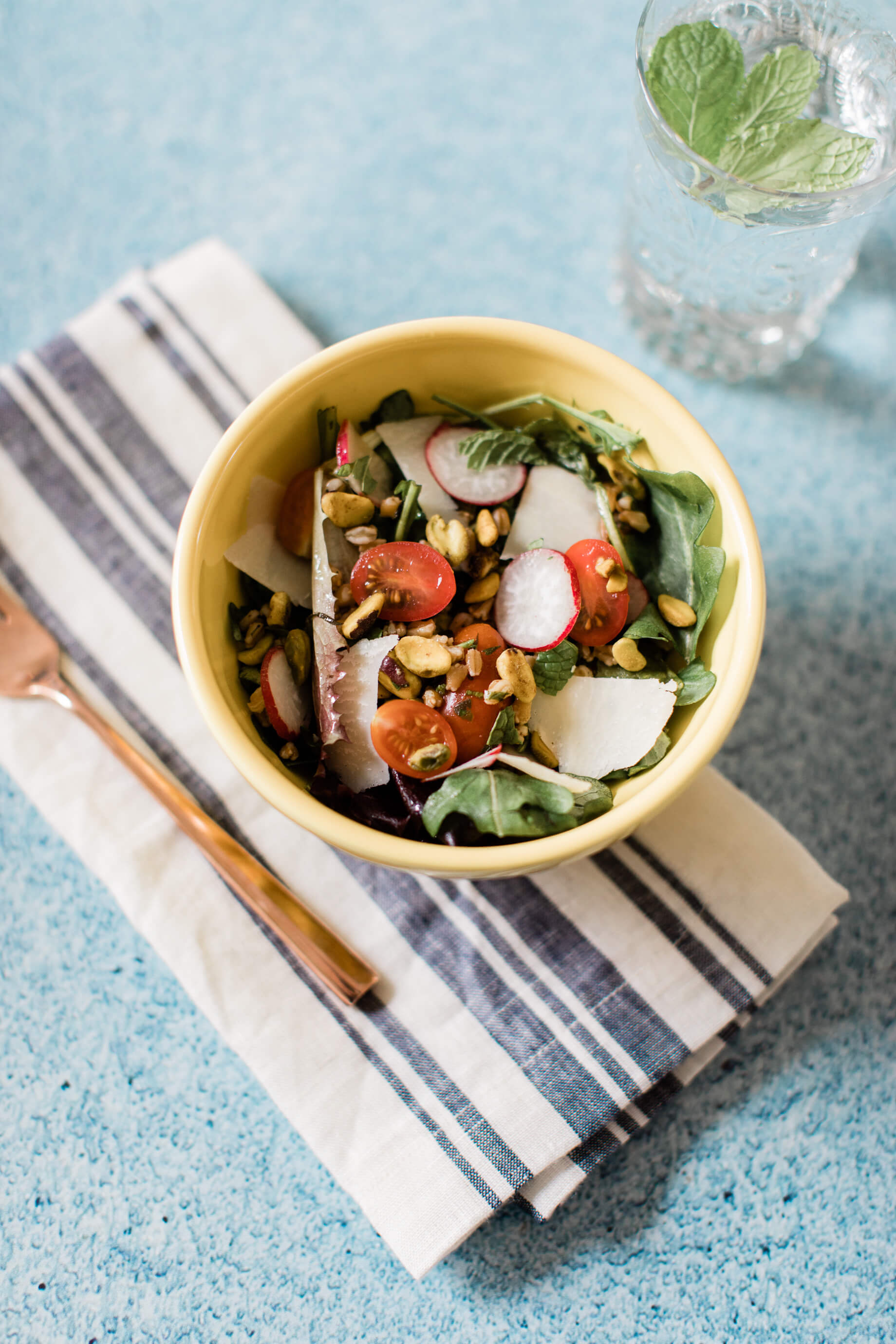 Farro salad recipe! - M Loves M @marmar