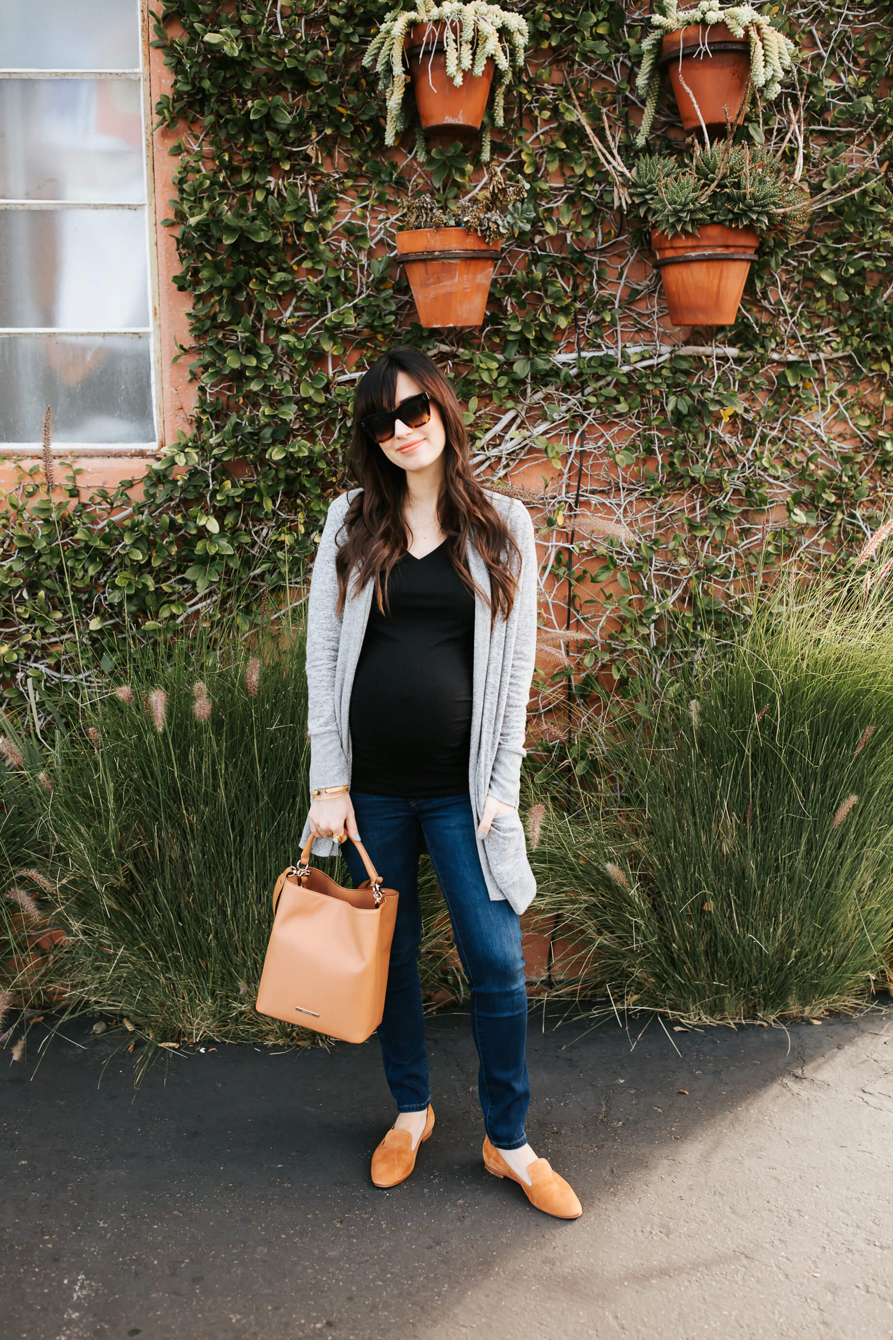 Easy winter maternity outfit! - M Loves M @marmar