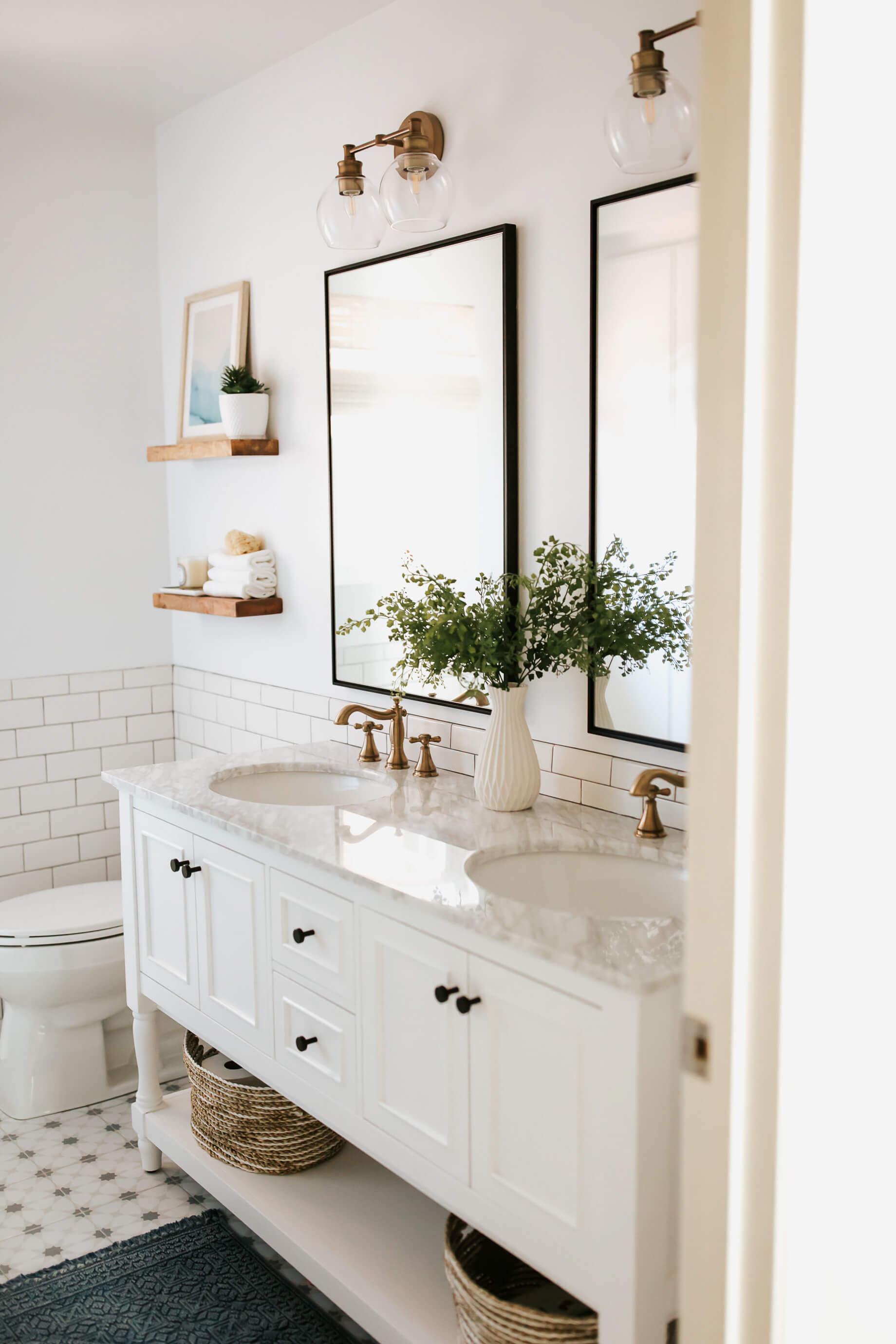 Before After Our Kids Bathroom Design M Loves M