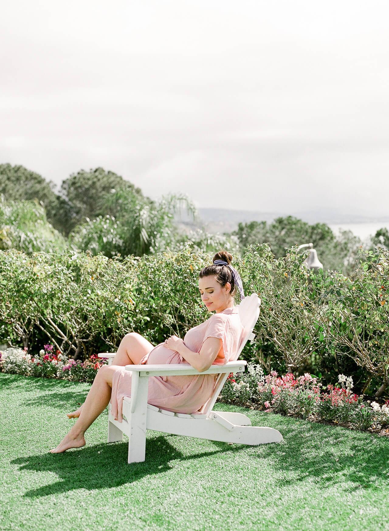 A pink maternity dress! - M Loves M @marmar