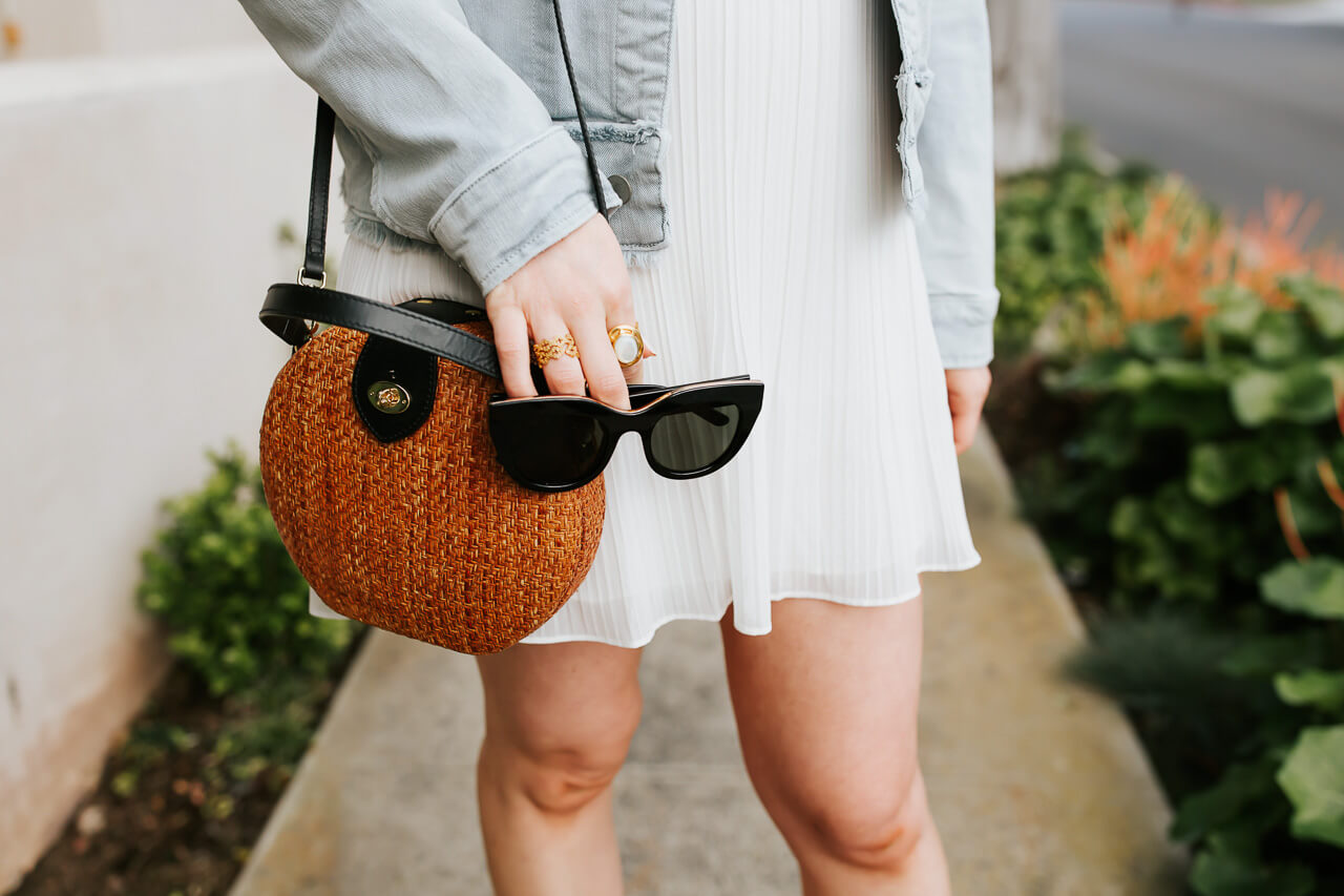 The perfect black wicker handbag! - M Loves M @marmar