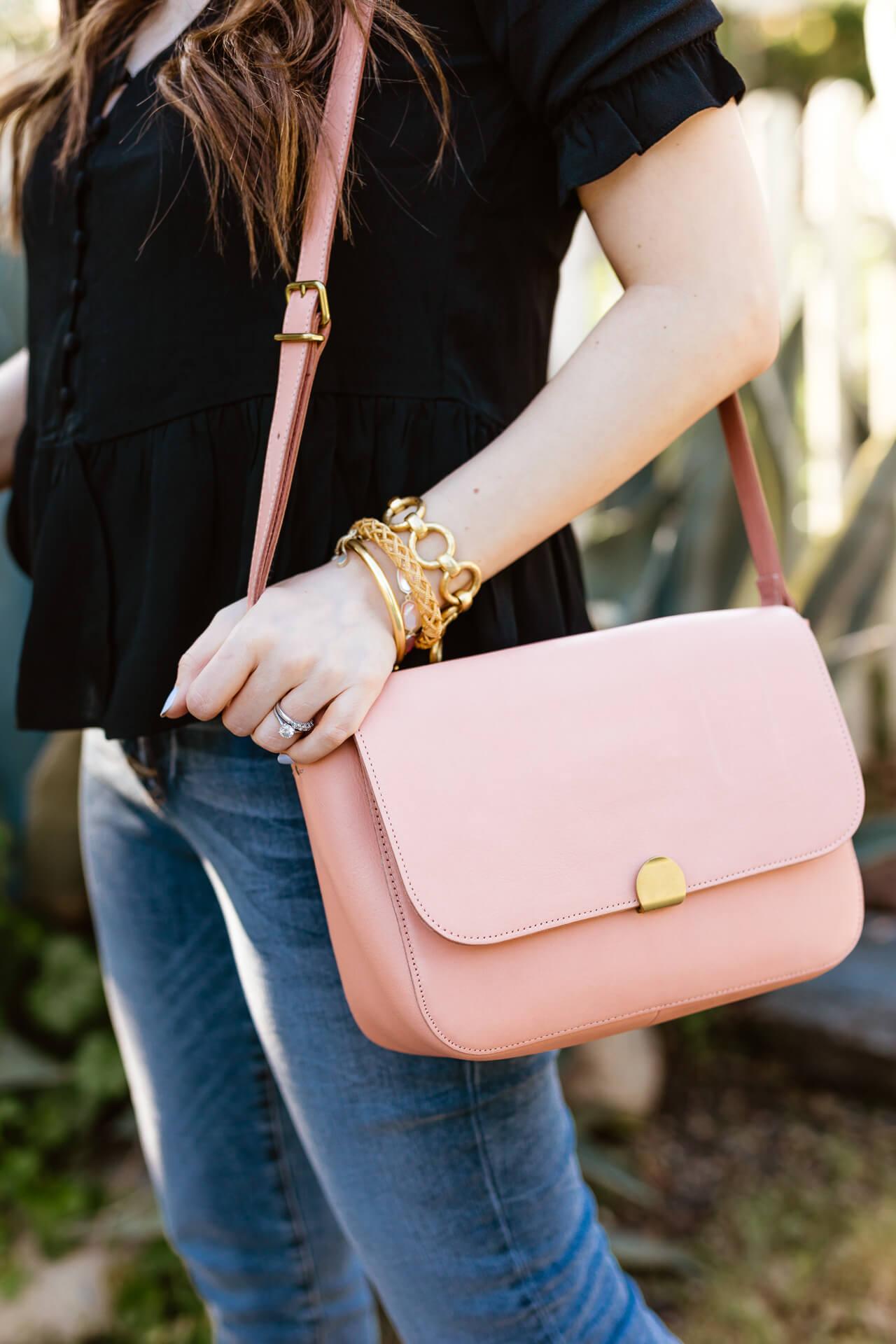 A pink Madewell crossbody bag! - M Loves M @marmar