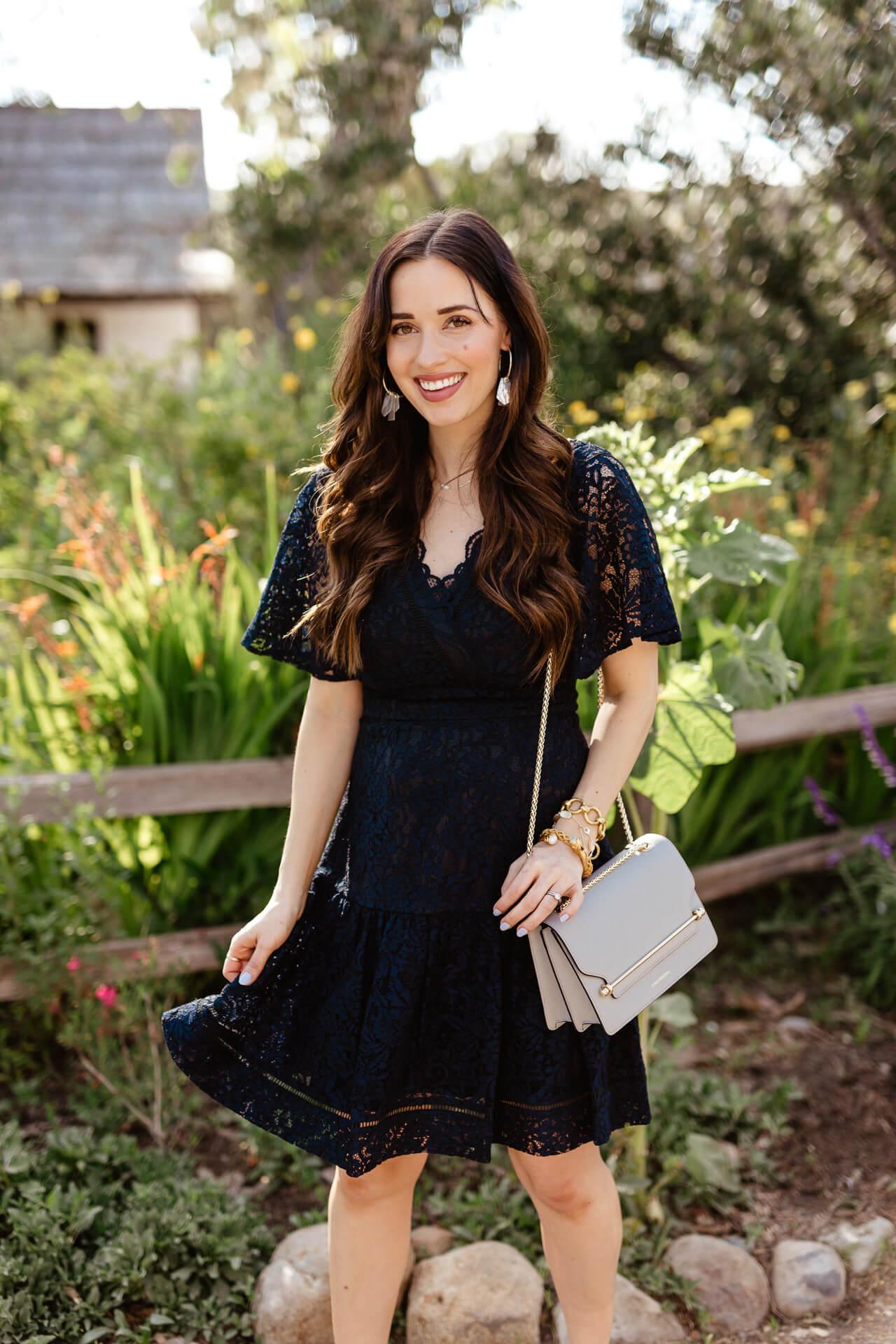 A navy lace dress under $100! - M Loves M @marmar