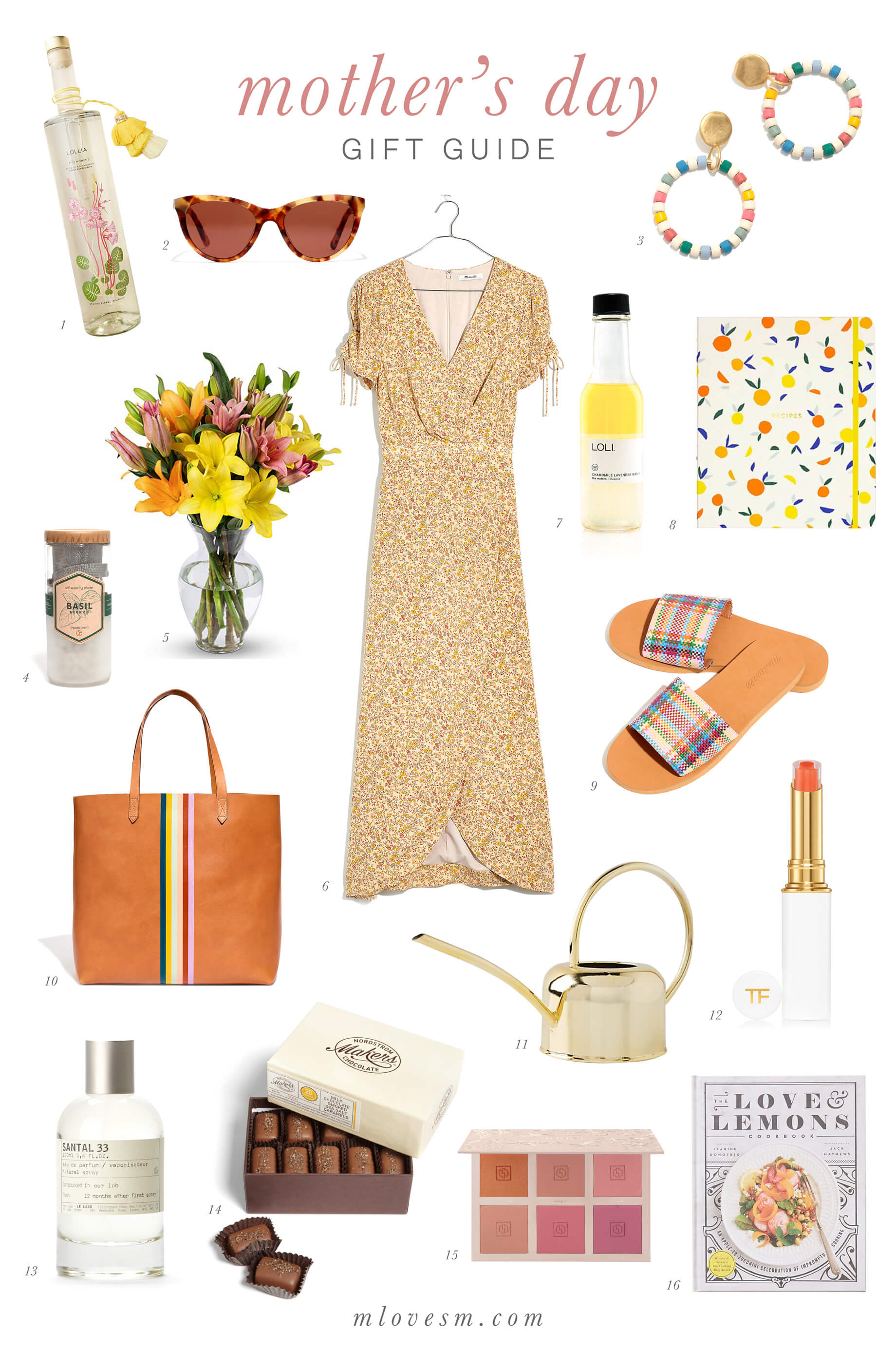 the best gifts to give to your mom for mother's day - mother's day gift guide- M Loves M