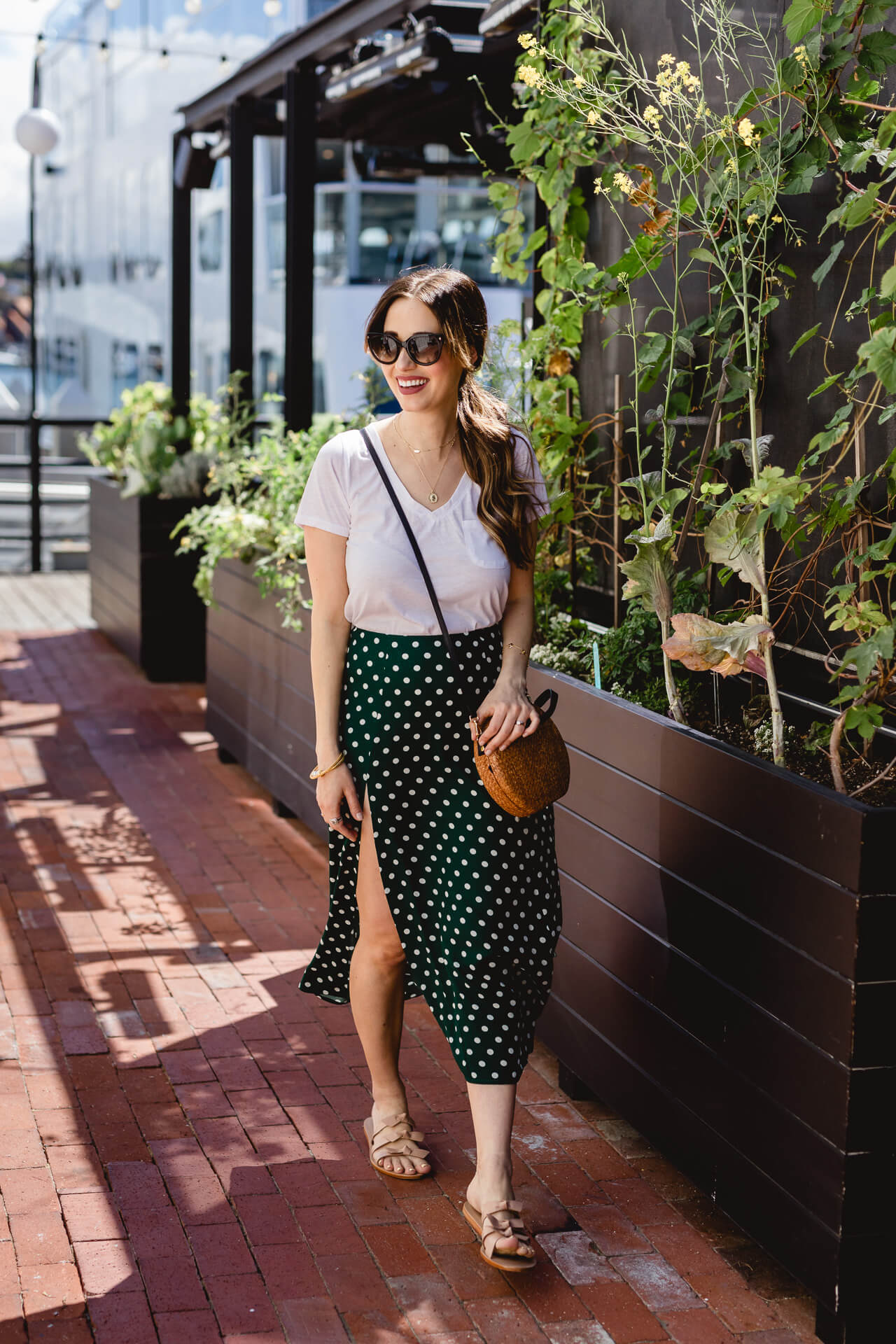 I love casual midi skirts in the summer! - M Loves M