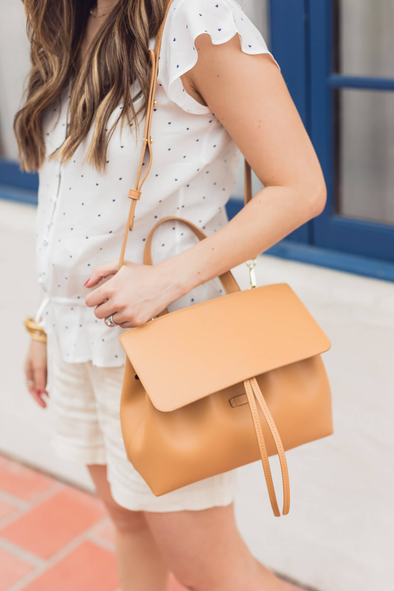 Love this tan Mansur Gavriel backpack! - M Loves M