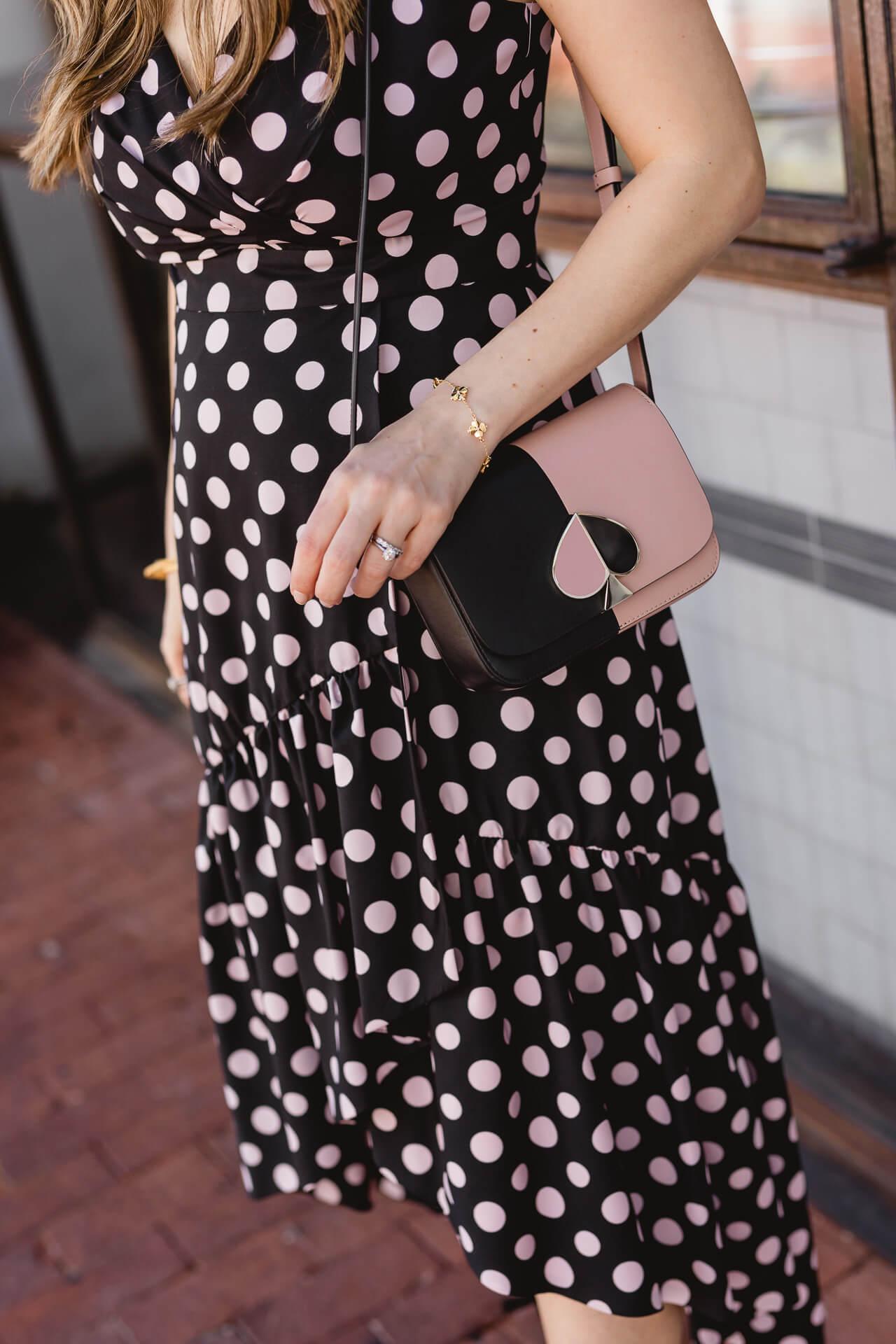 A fun black polkadot dress! - M Loves M