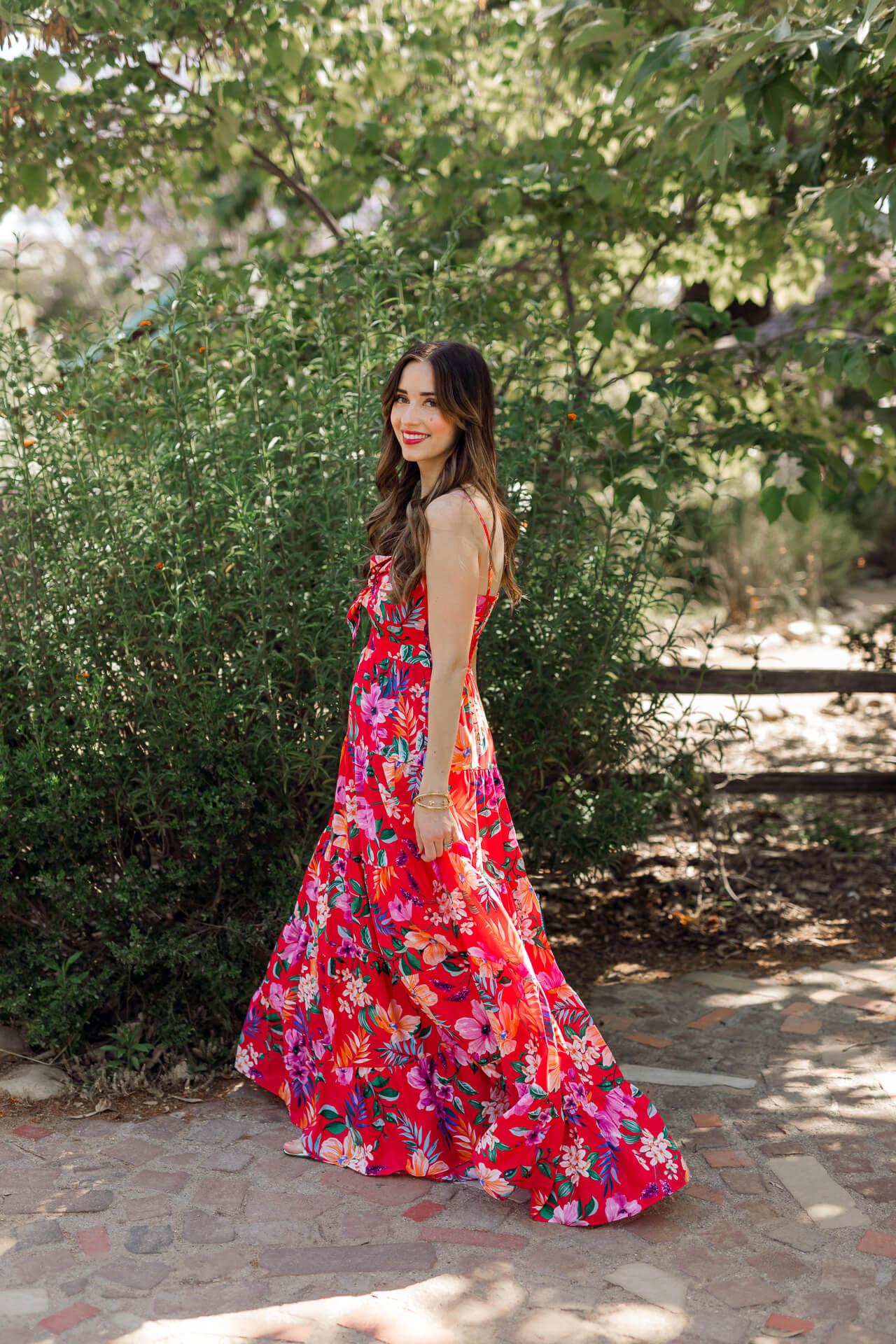 Tropical print maxi dresses for summer! - M Loves M