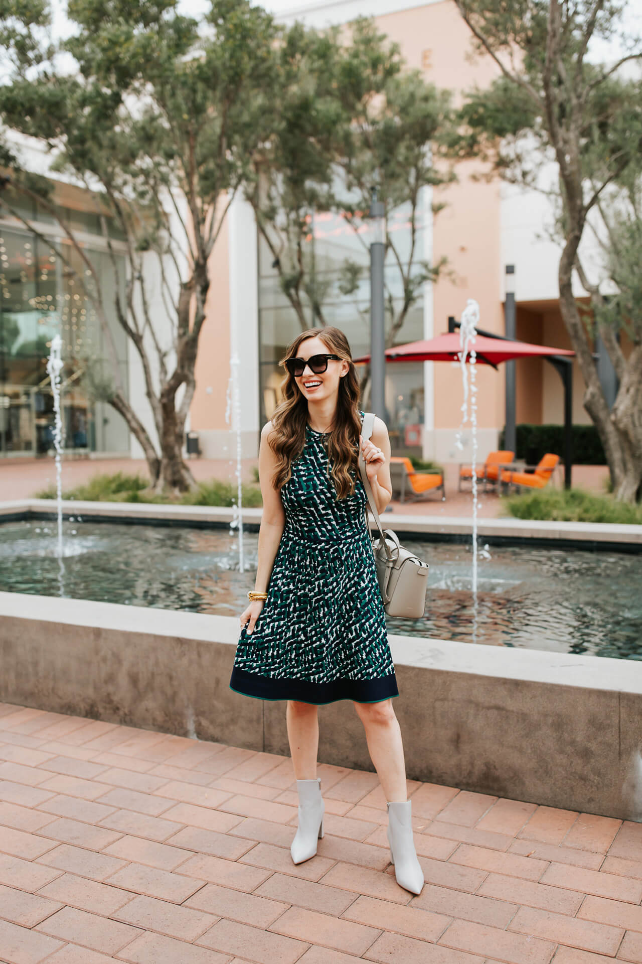 sweater dress styled for late summer - M Loves M @marmar