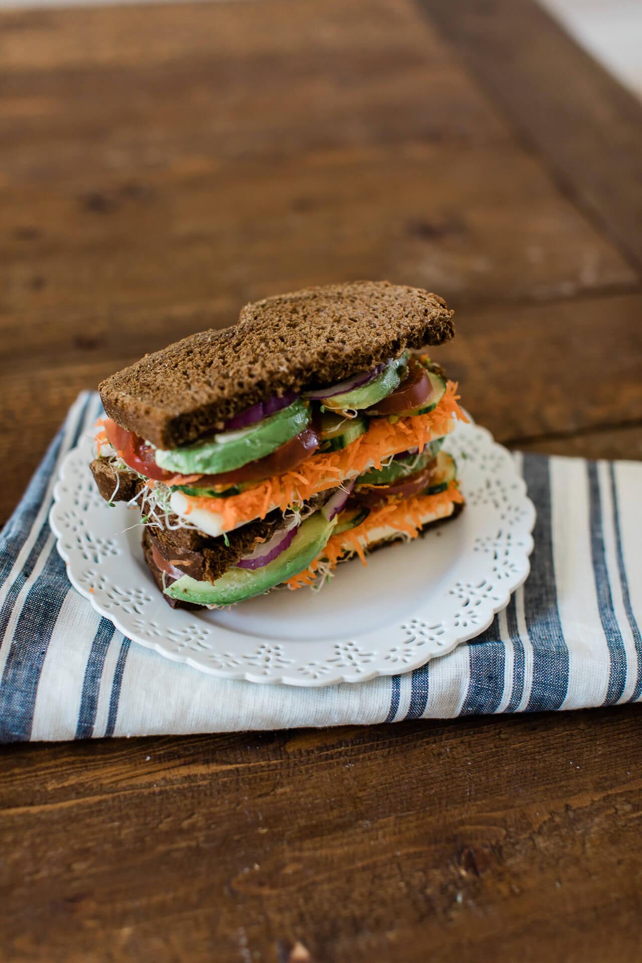 A yummy vegetarian sandwich recipe! - M Loves M @marmar