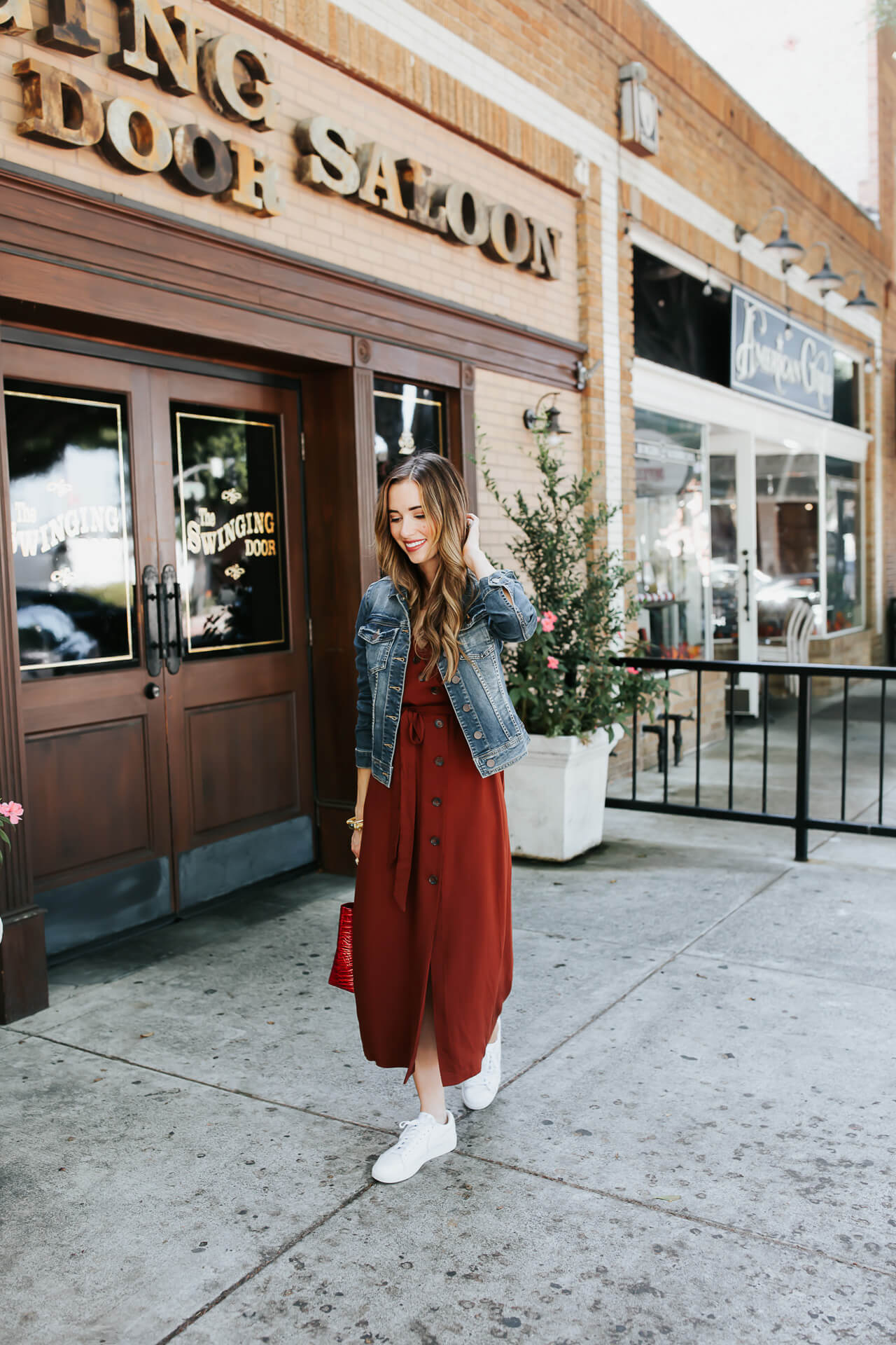 An easy fall dress outfit! - M Loves M @marmar