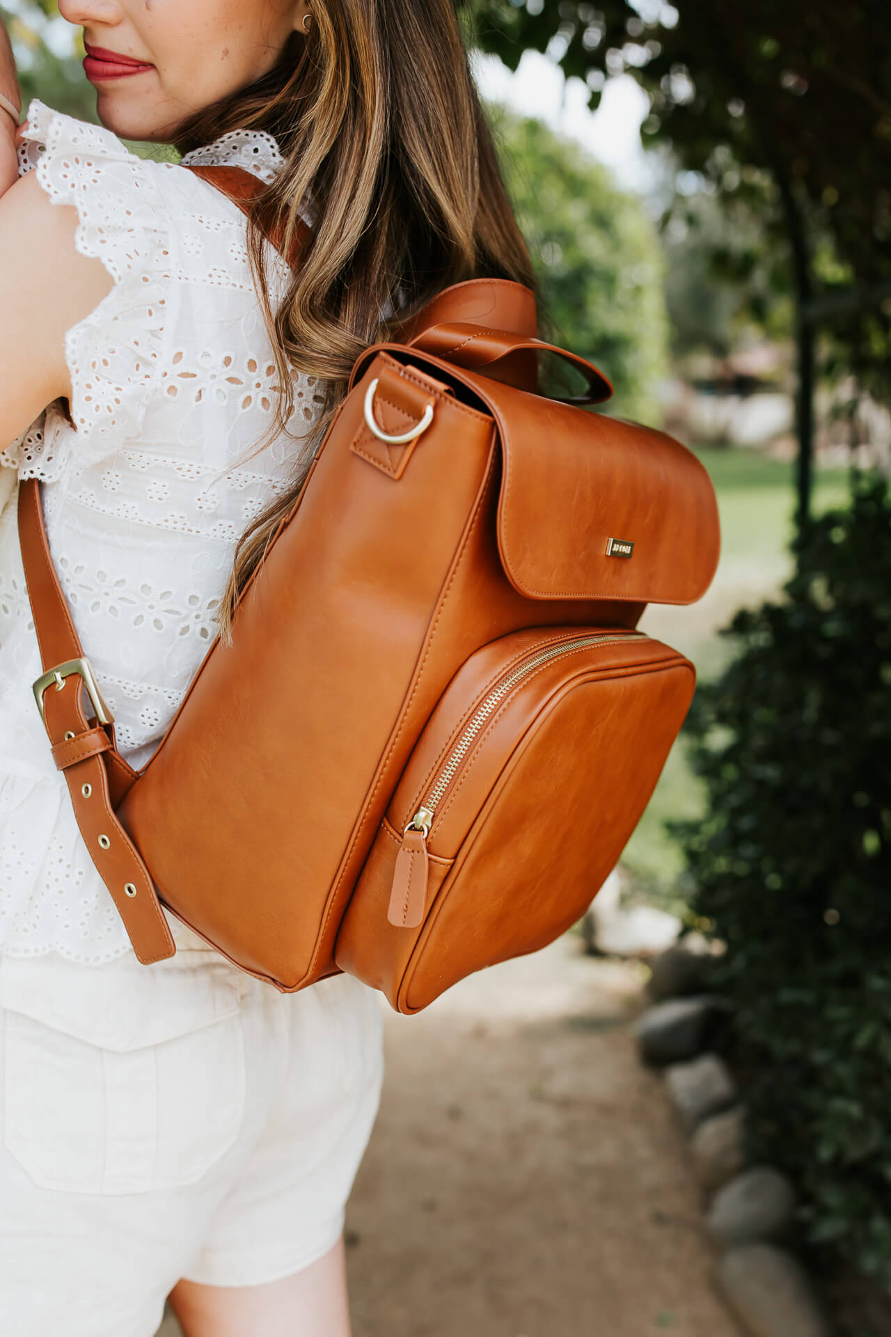 A leather mom backpack! - M Loves M @marmar