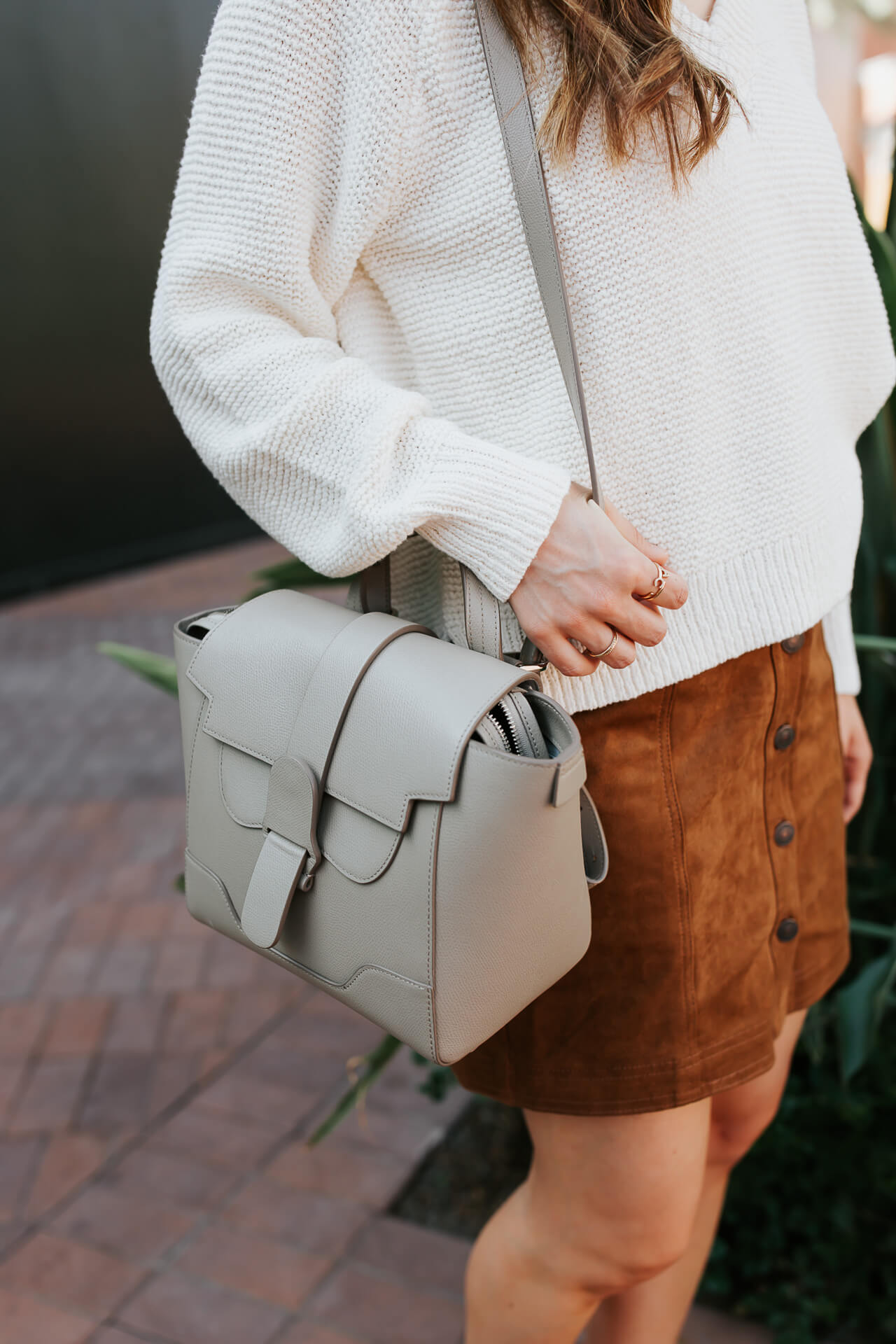 Love this grey Sevres handbag! - M Loves M @marmar