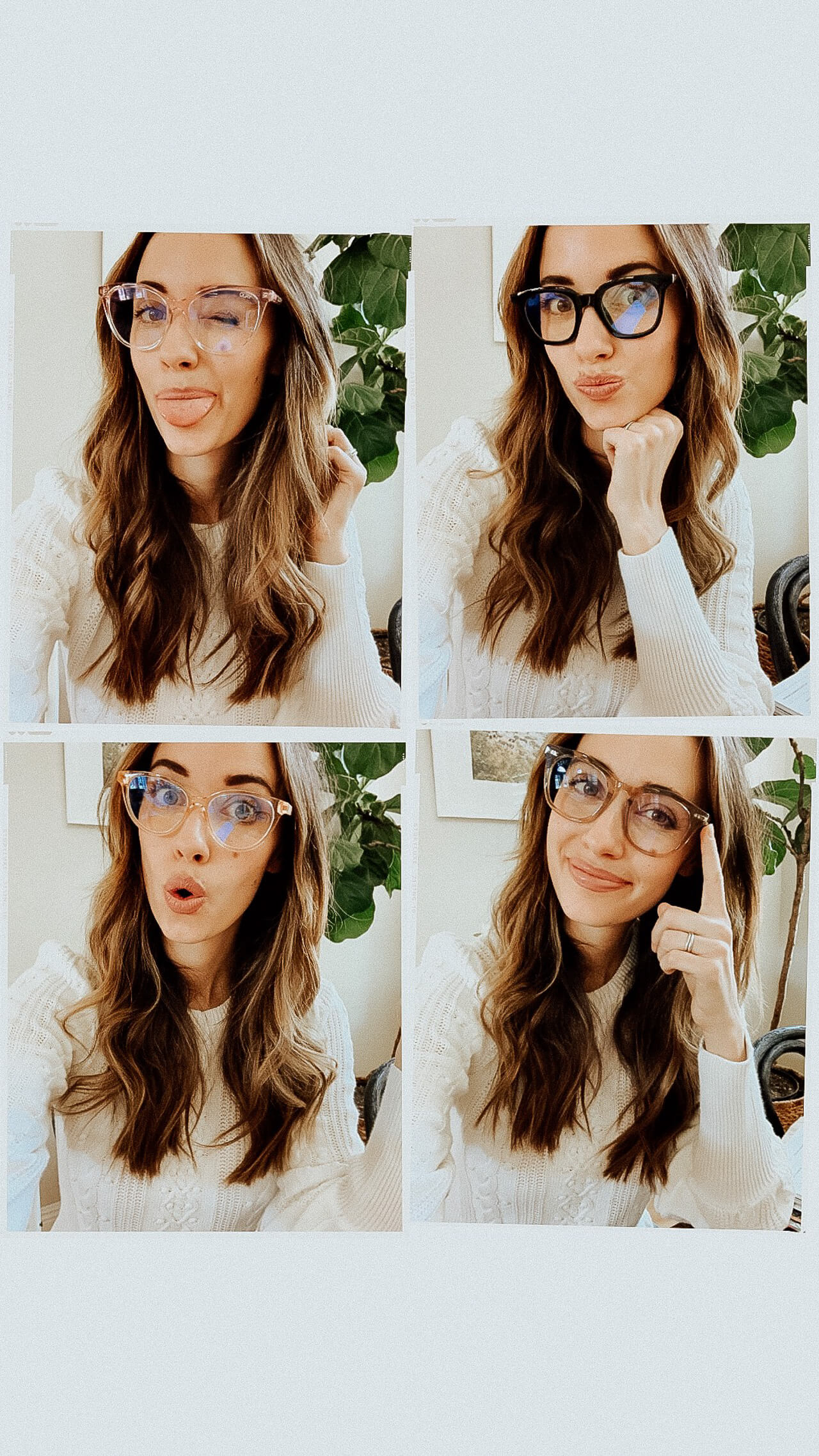 I tried out some really cute blue light glasses! - M Loves M @marmar
