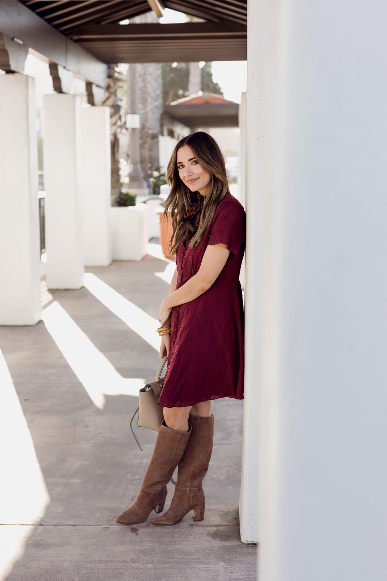 I love knee high boots for fall! - M Loves M @marmar