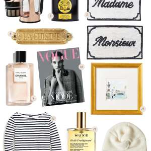 A holiday gift guide for the francophile. - M Loves M @marmar