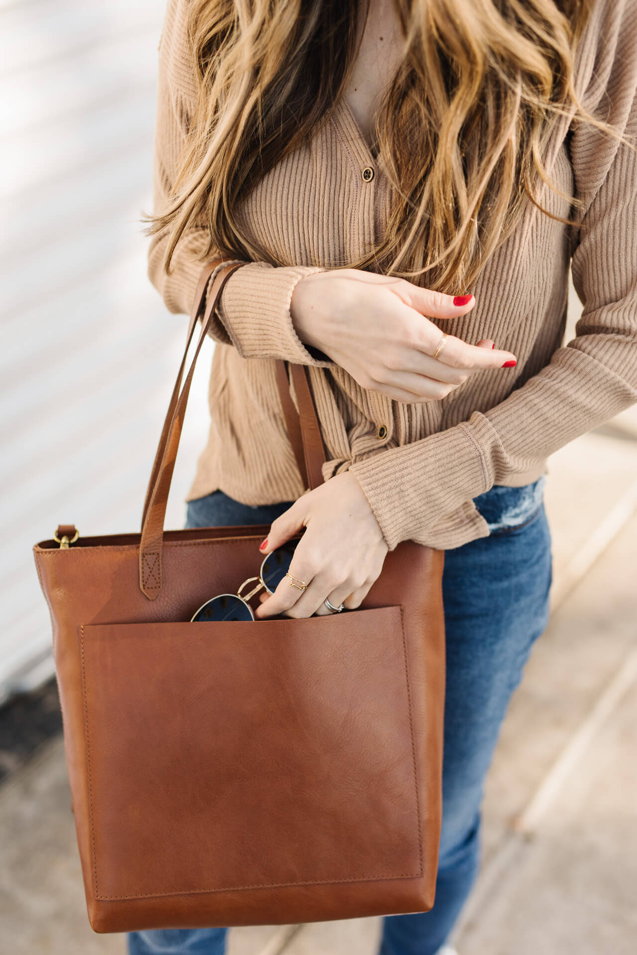 A review of the Madewell transport bag! - M Loves M @marmar
