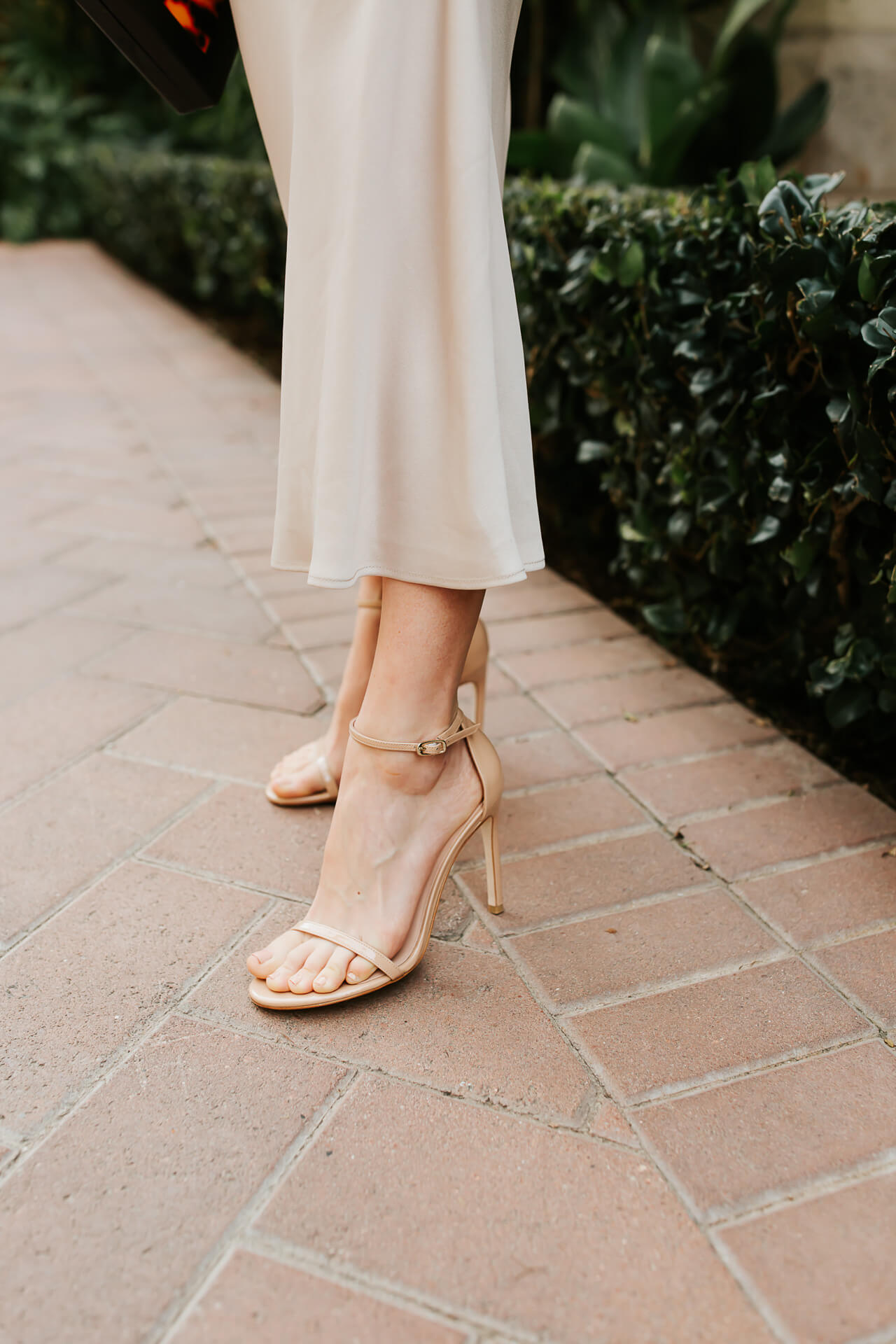 A strappy nude sandal! - M Loves M @marmar