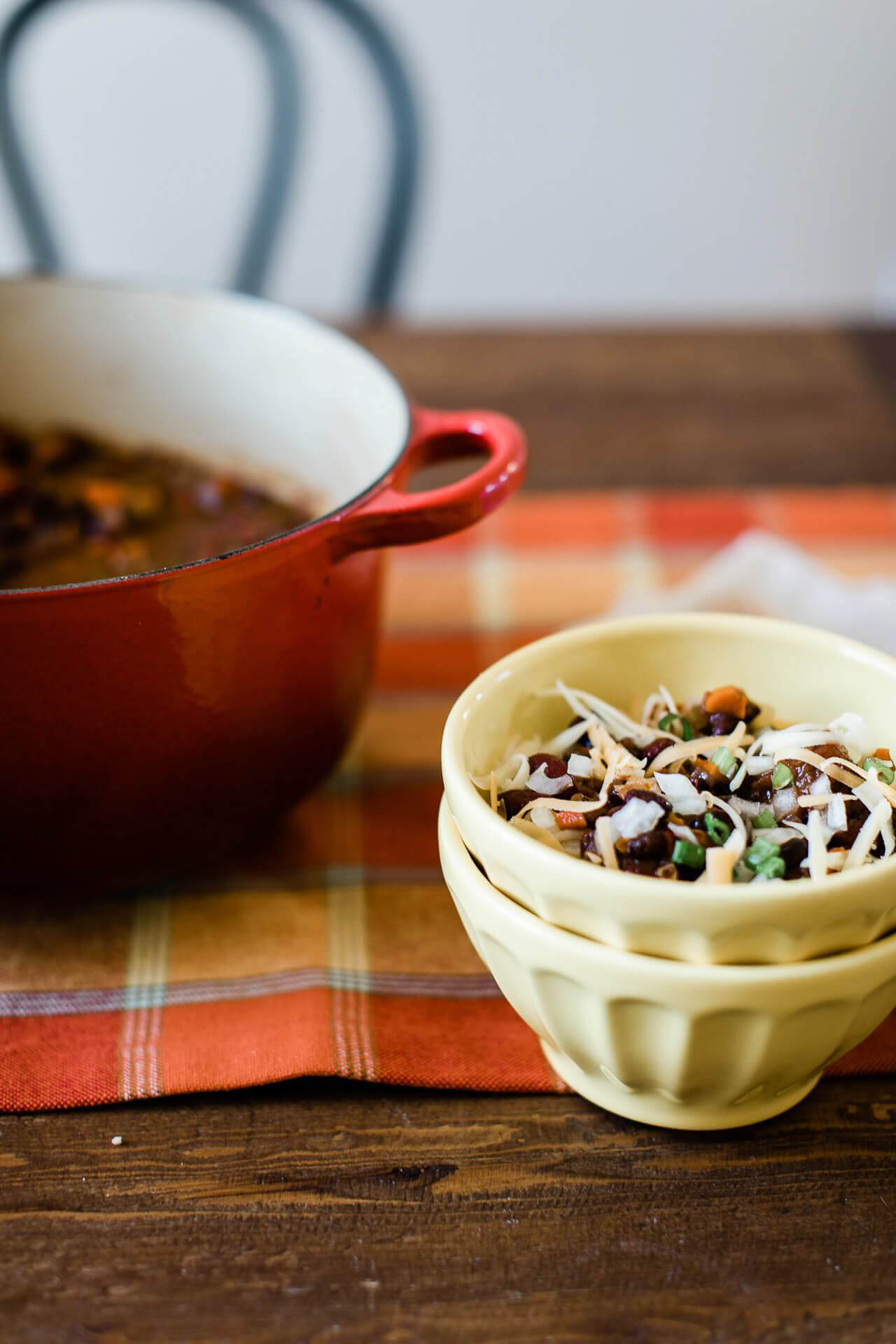 This chili recipe is the perfect healthy comfort food!- M Loves M @marmar