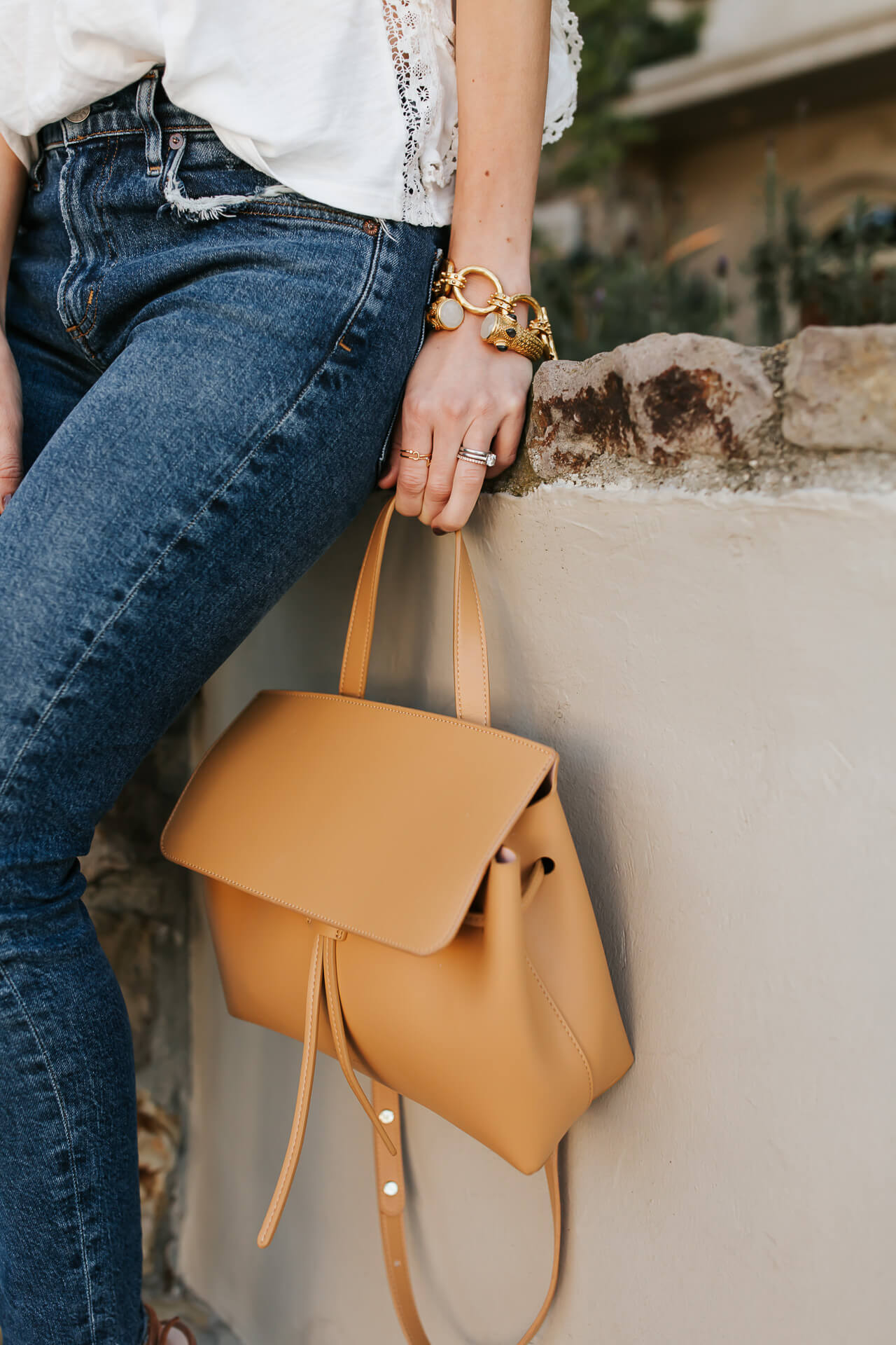 Love this Mansur Gavriel Lady Cammeo bag in tan! - M Loves M @marmar