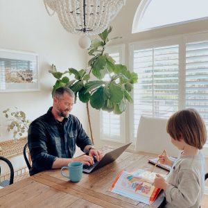 These are my best tips for working from home with kids! - M Loves M @marmar