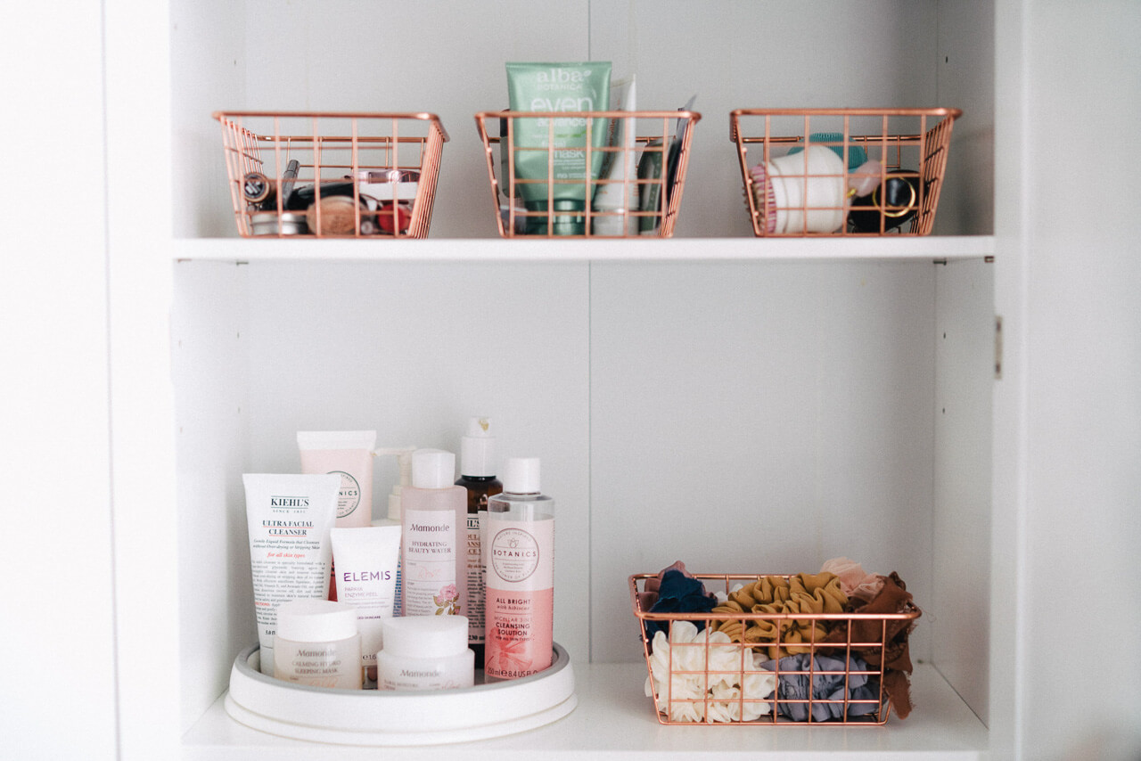 Organizing your beauty collection is a great quarantine activity! - M Loves M @marmar