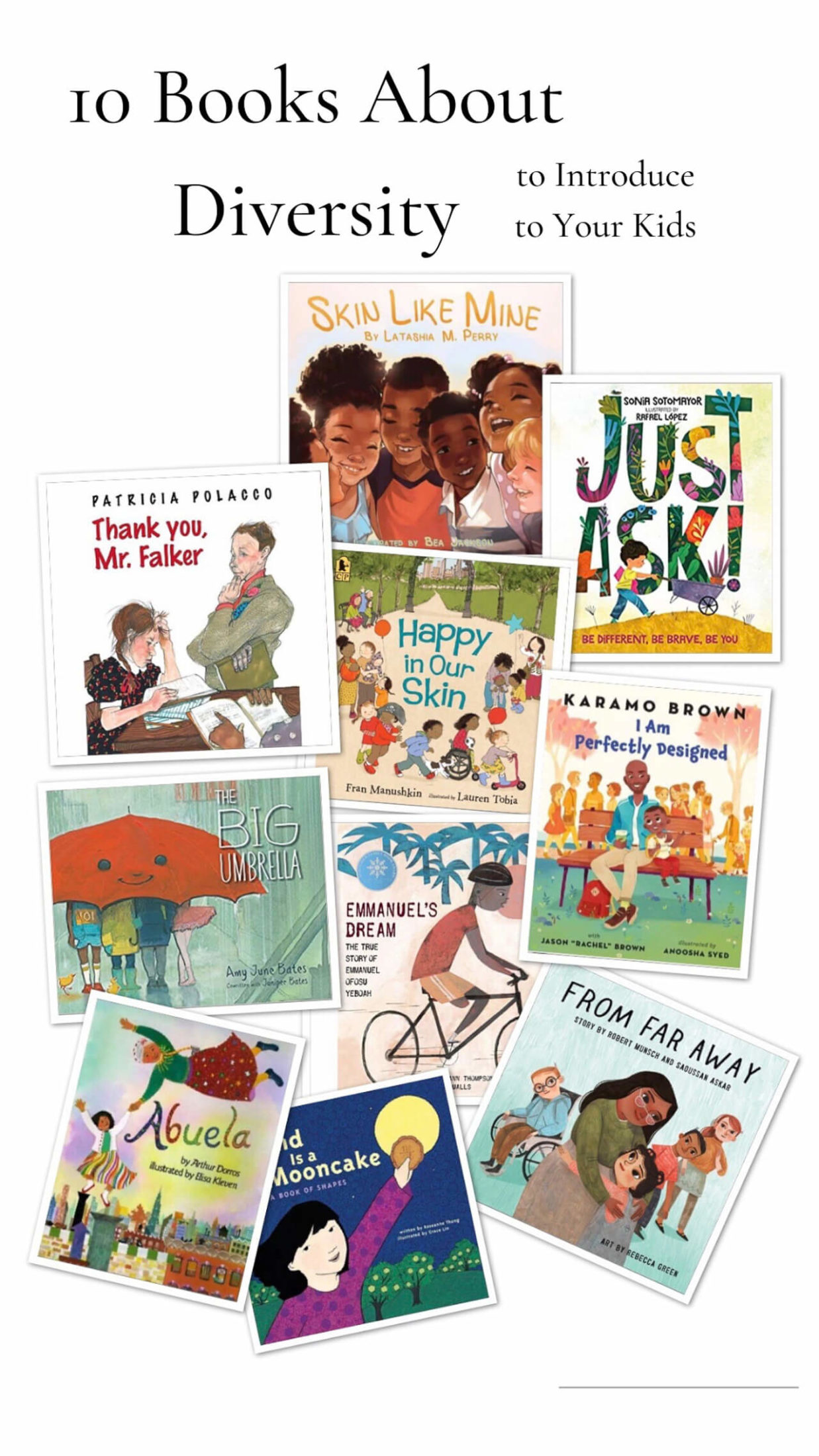 Here are some great books to introduce to your kids during this time! - M Loves M @marmar