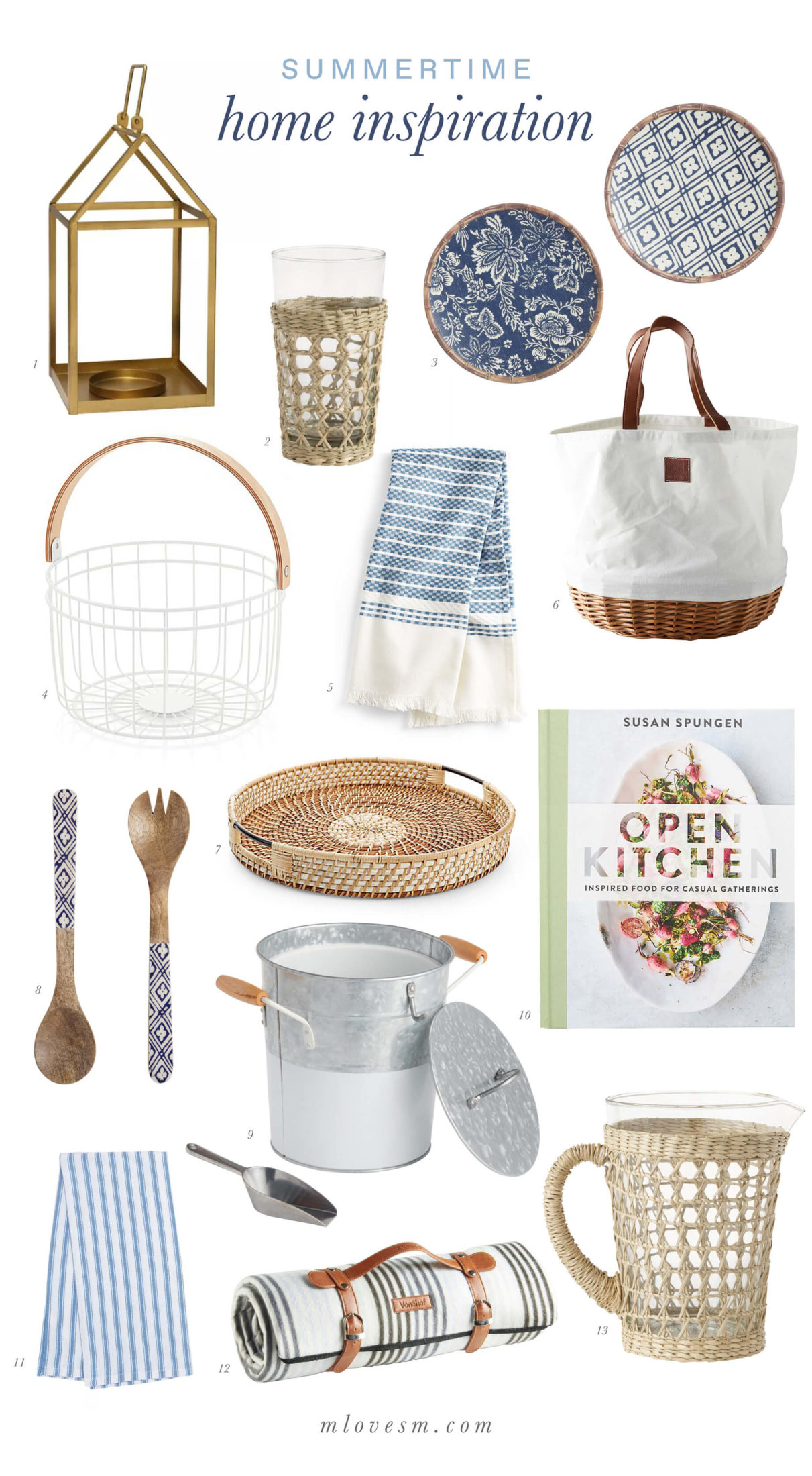 Here's a little bit of summertime home inspiration! - M Loves M @marmar