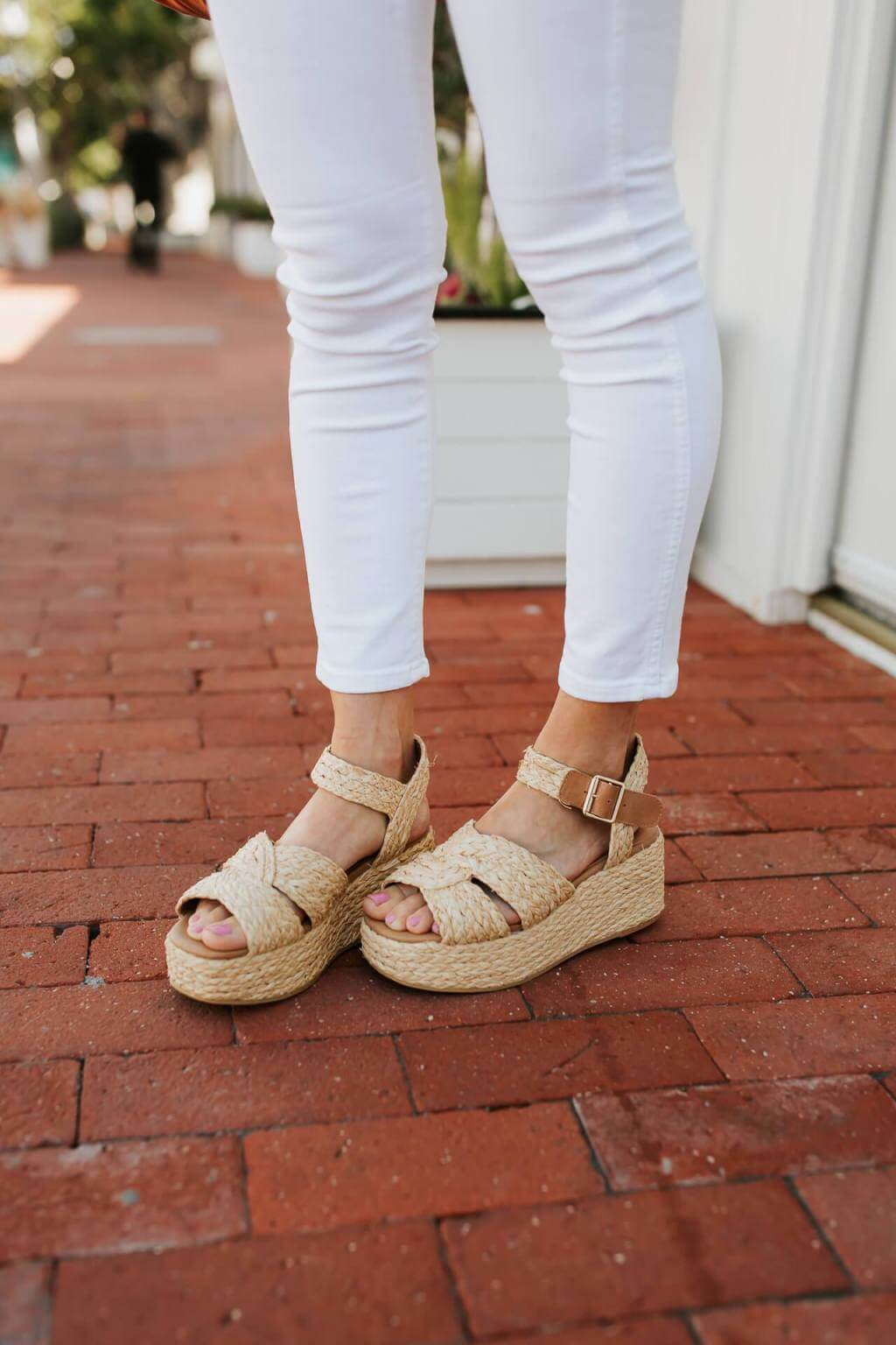 These woven espadrille wedges are too cute! - M Loves M @marmar