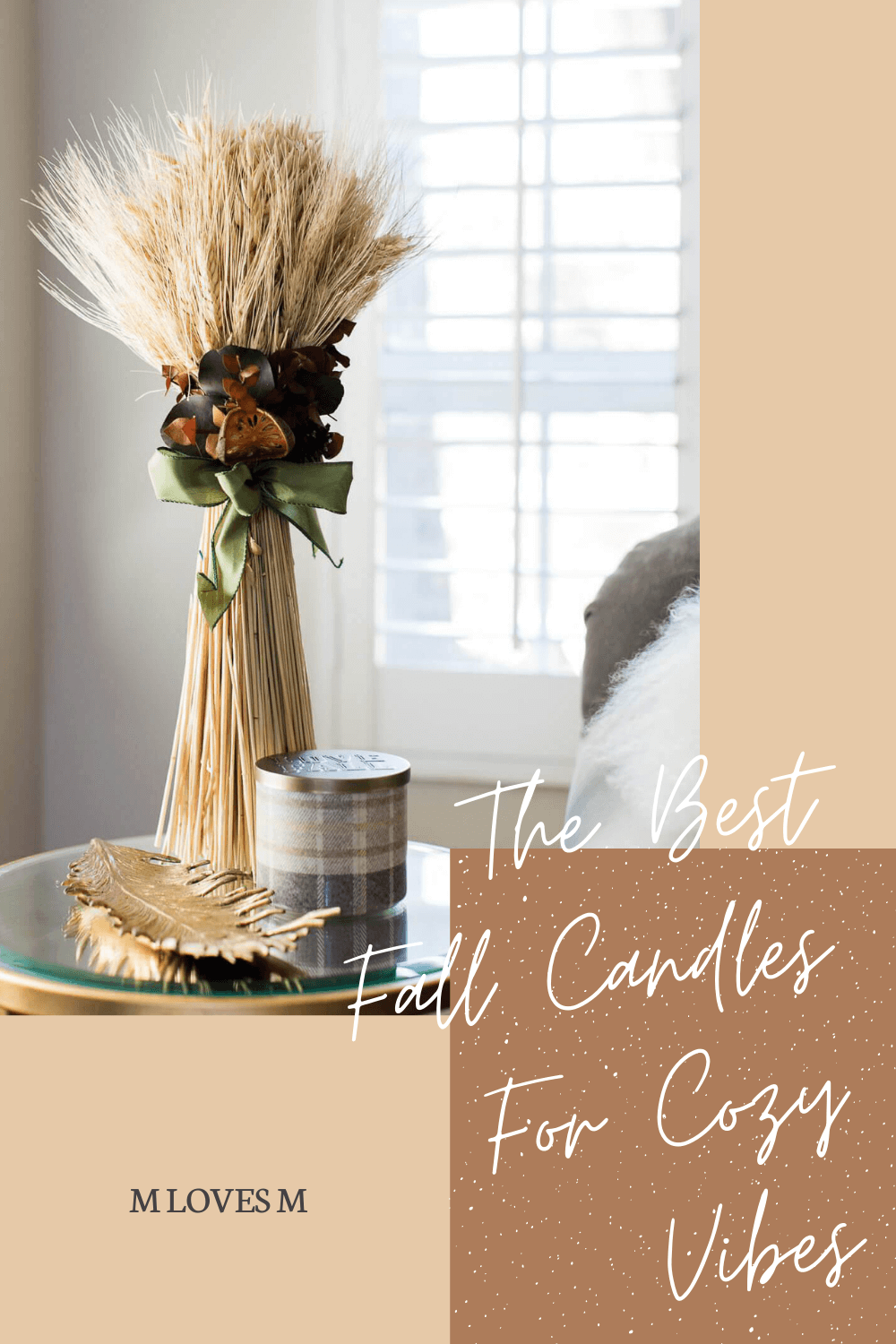 Fall candles for cozy vibes