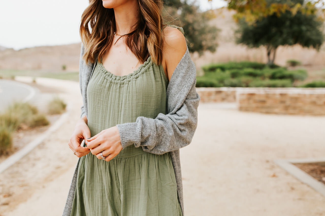 The comfiest and most casual dress ever