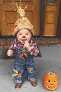 Halloween costume inspiration as a scarecrow