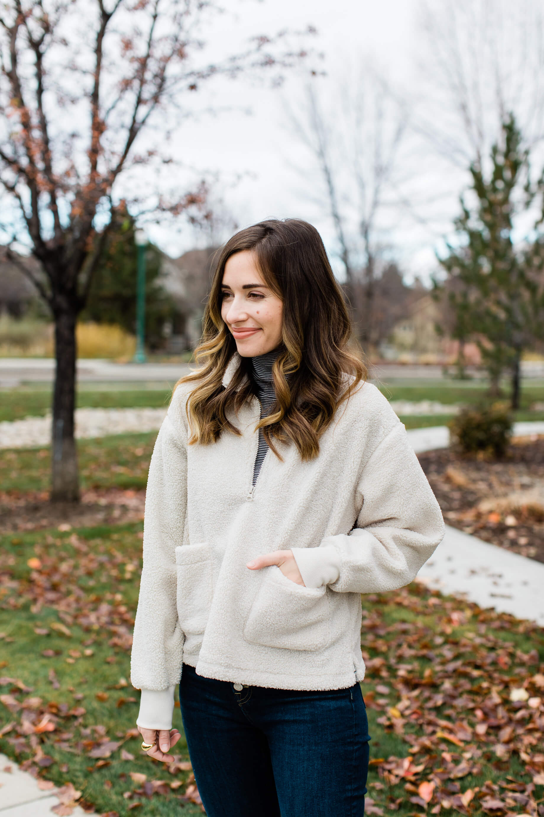 cute sherpa jacket that's so affordable - M Loves M @marmar