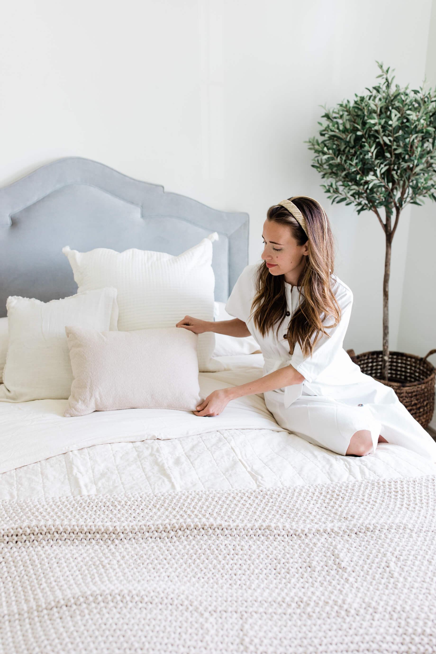 bedroom refresh for summer - M Loves M @marmar