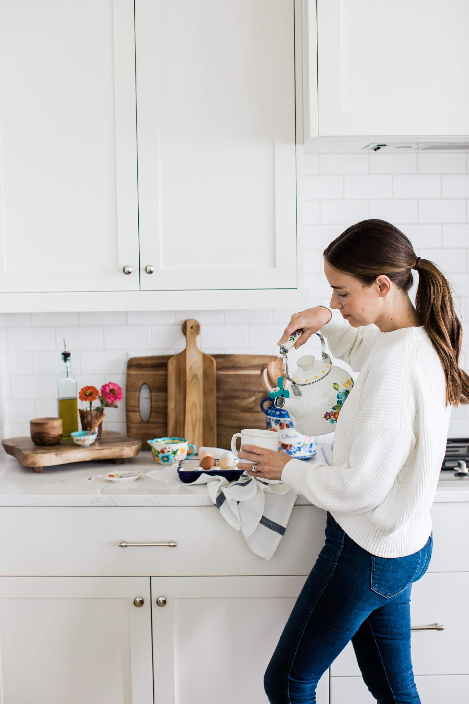 making tea in the kitchen - M Loves M @marmar