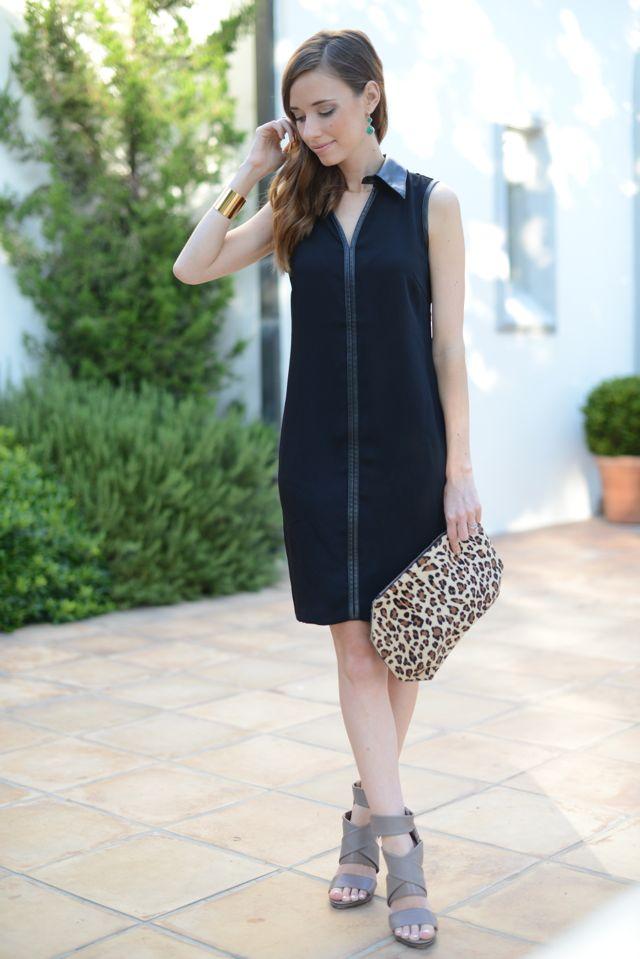 little black shirt dress | M Loves M