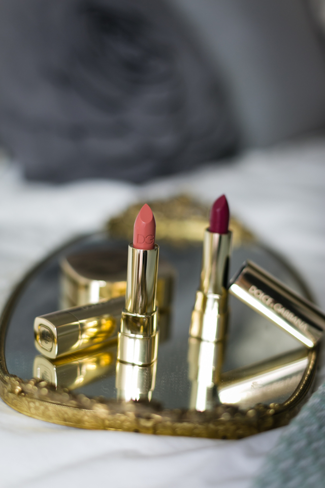 dolce and gabbana lipstick options @marmar