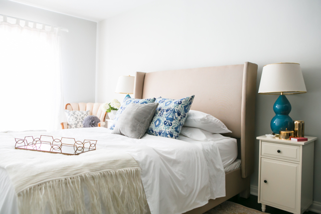 how to style a guest bedroom M Loves M @marmar