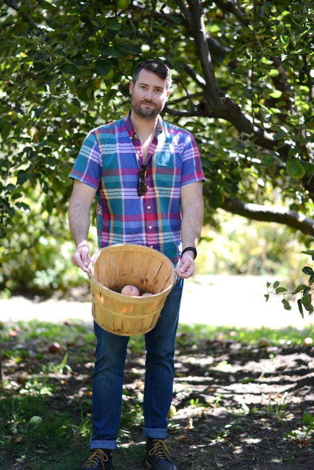 M Loves M @marmar apple picking weekend